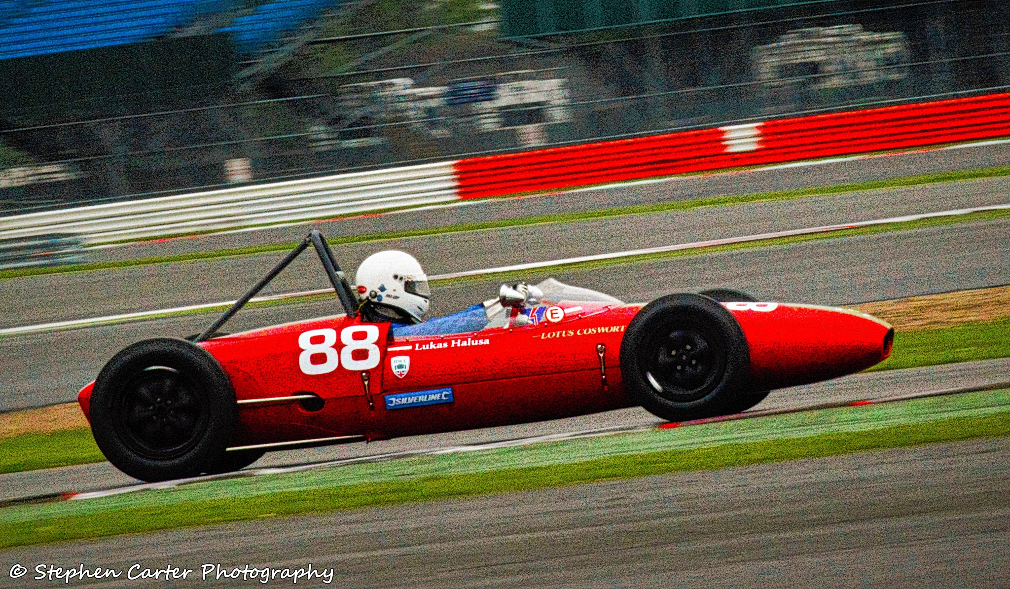 HSCC Formula Junior - Lotus Cosworth #88 by Stephen Carter Photography