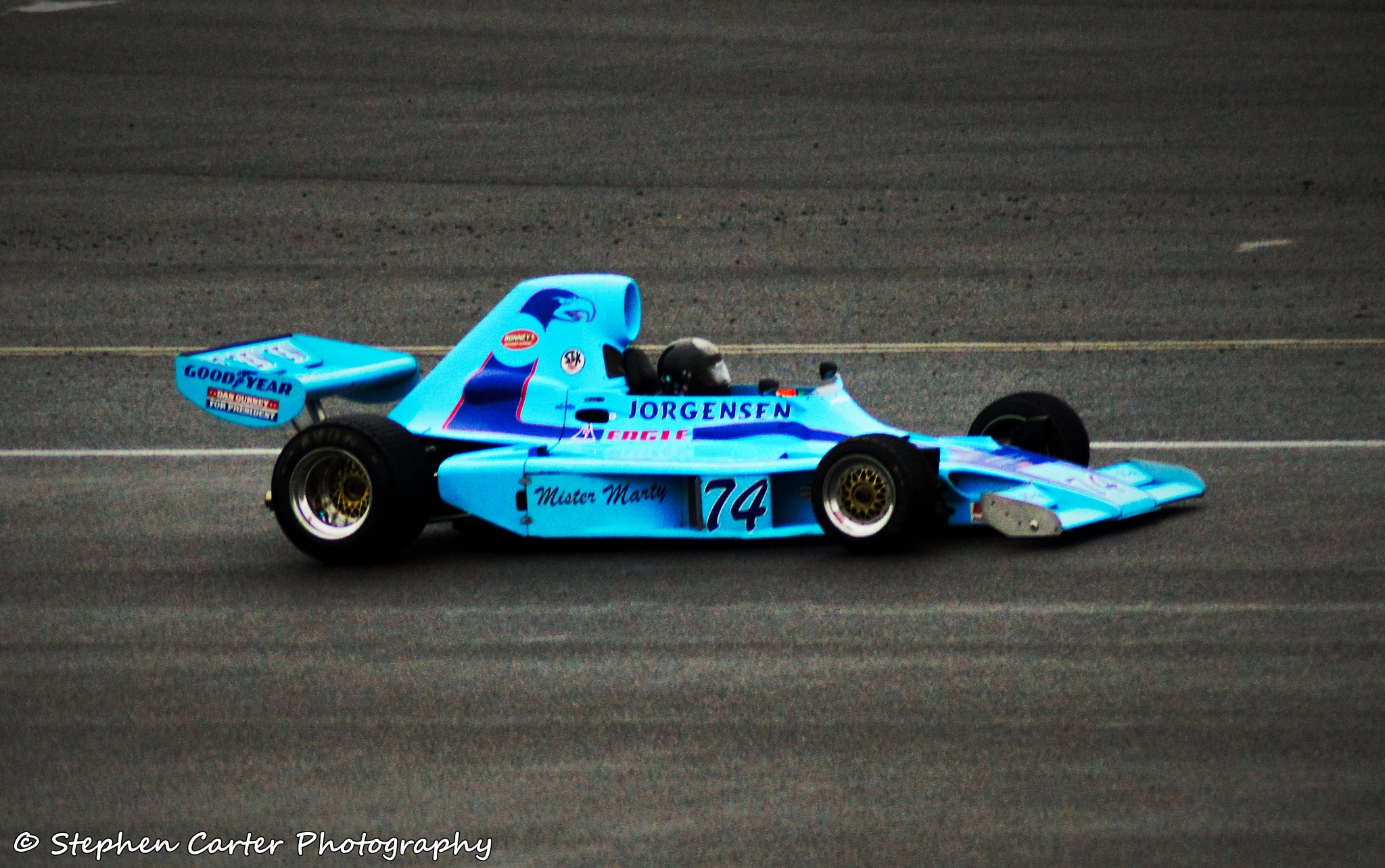 1974 Jorgensen Eagle 74A Formula 5000 by Stephen Carter Photography