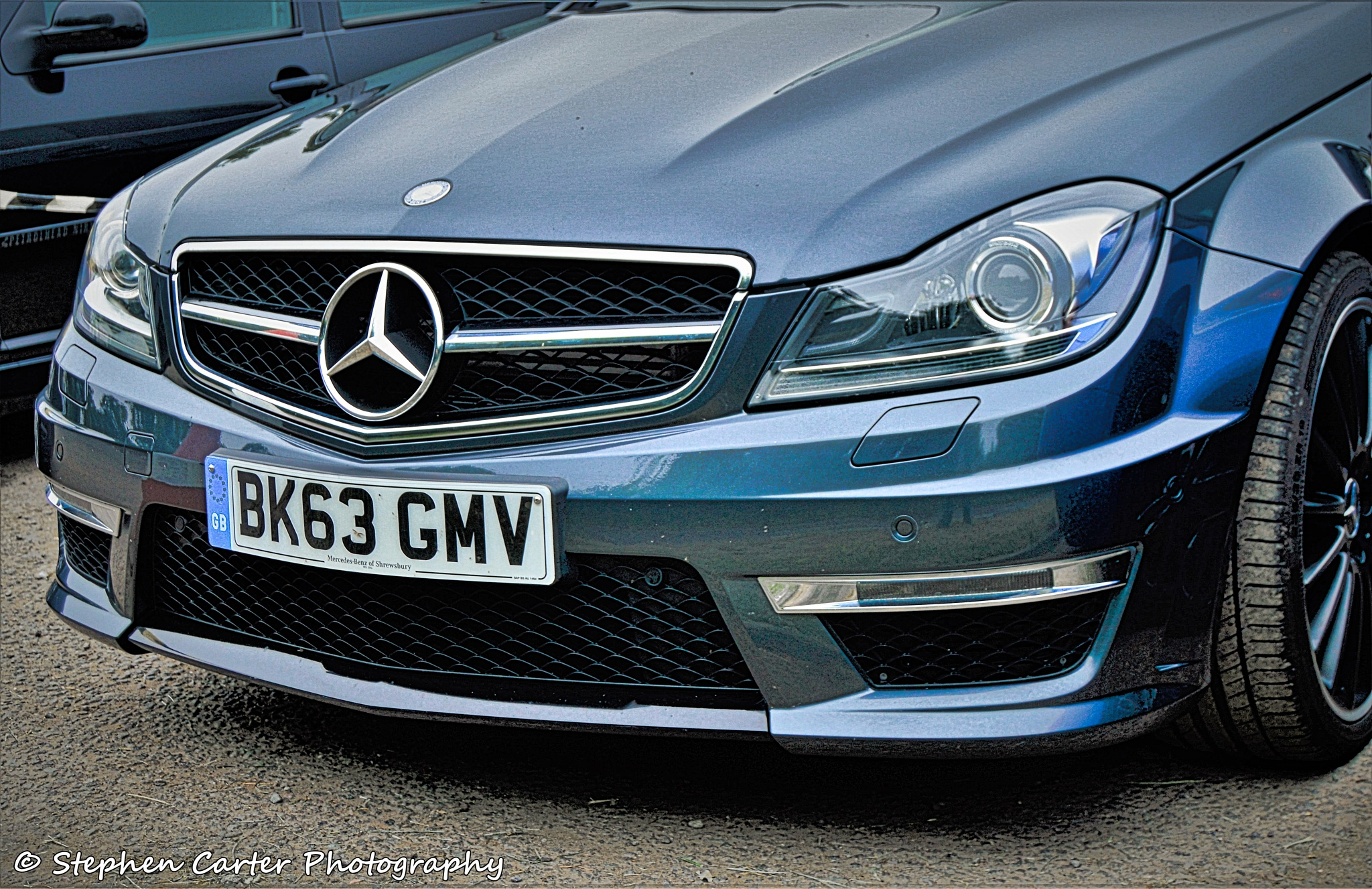 Mercedes C63 AMG Coupe by Stephen Carter Photography