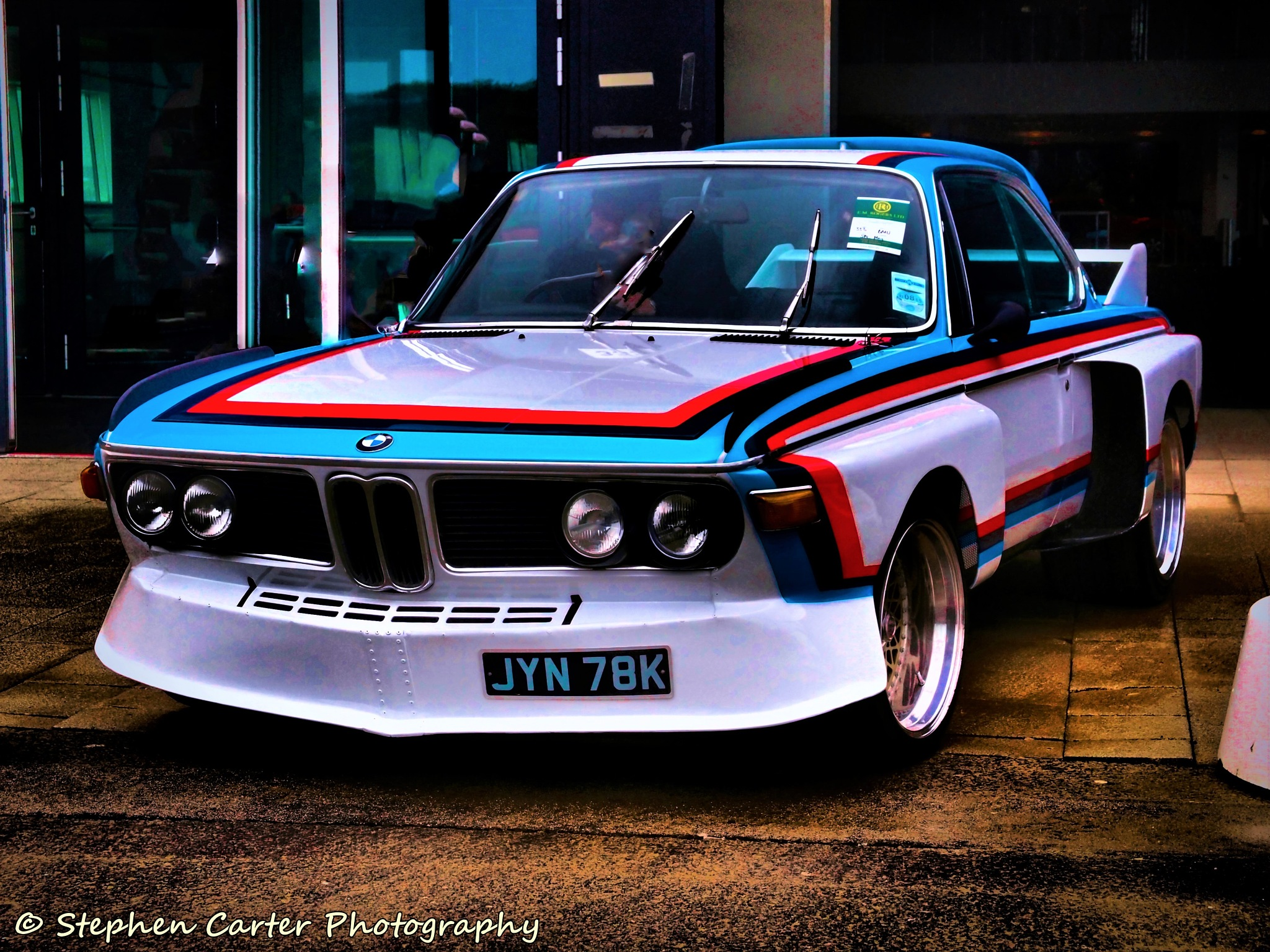 BMW 3.0 CSL by Stephen Carter Photography