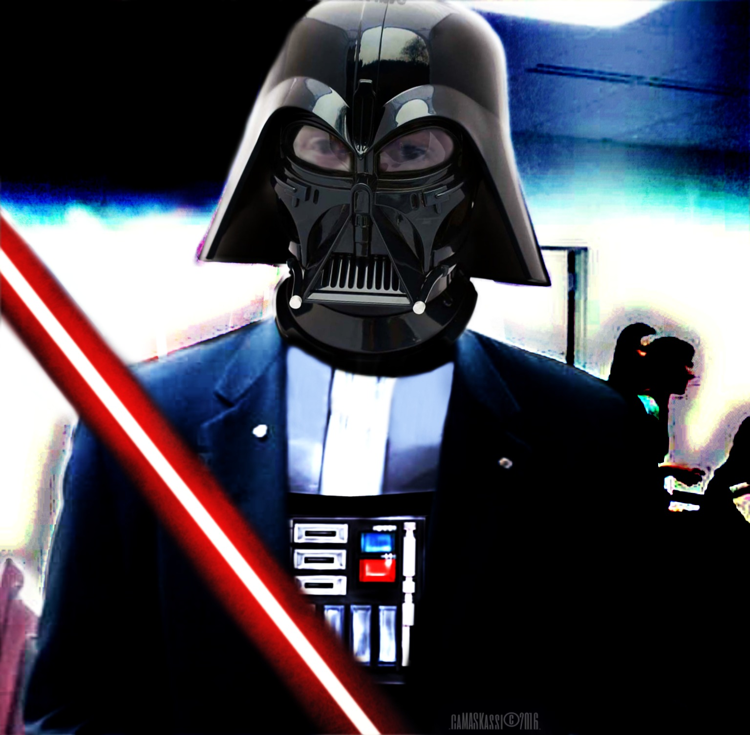 I am your father! by caMASKassi™