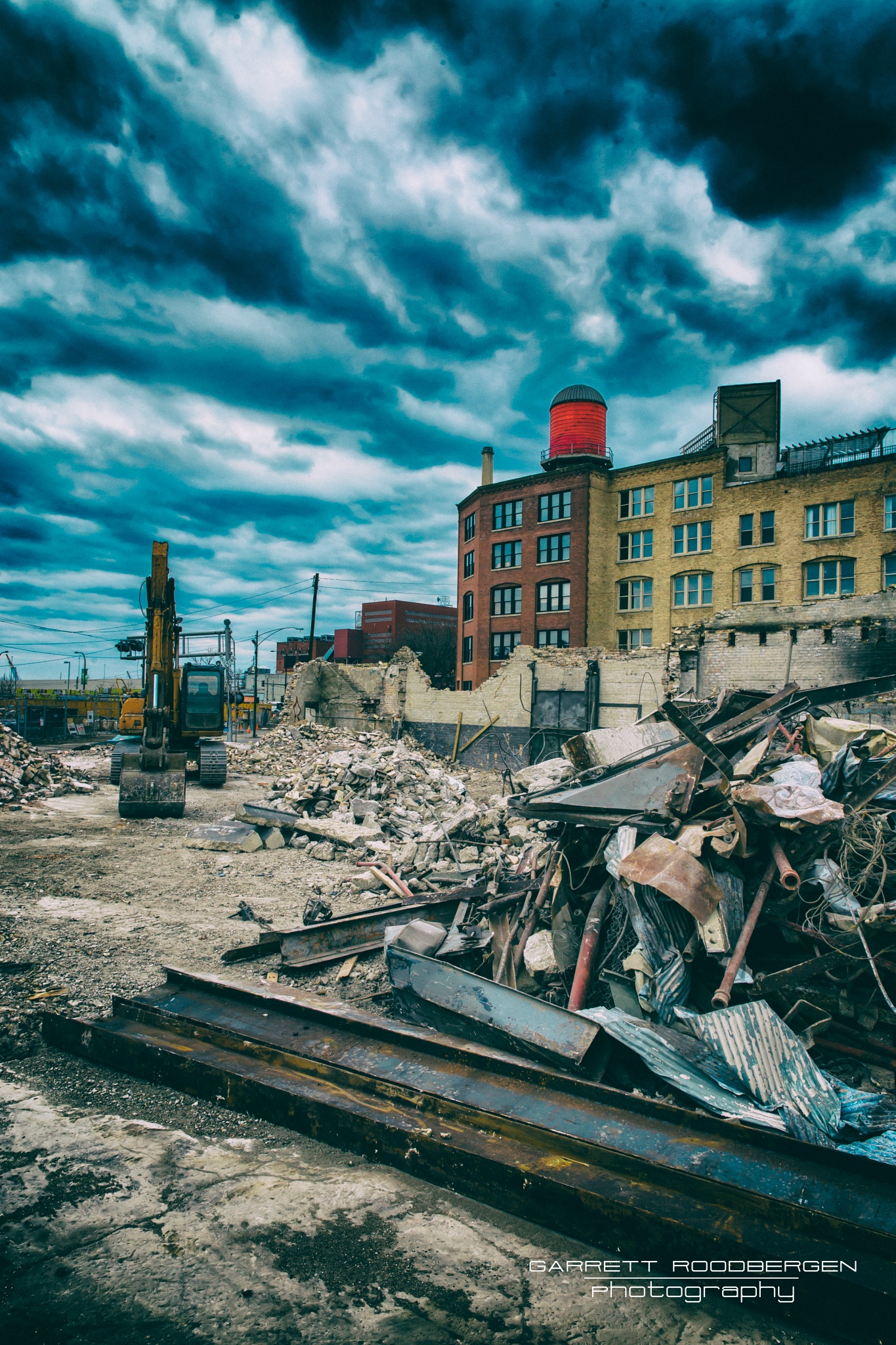 Construction or Destruction by Garrett Roodbergen