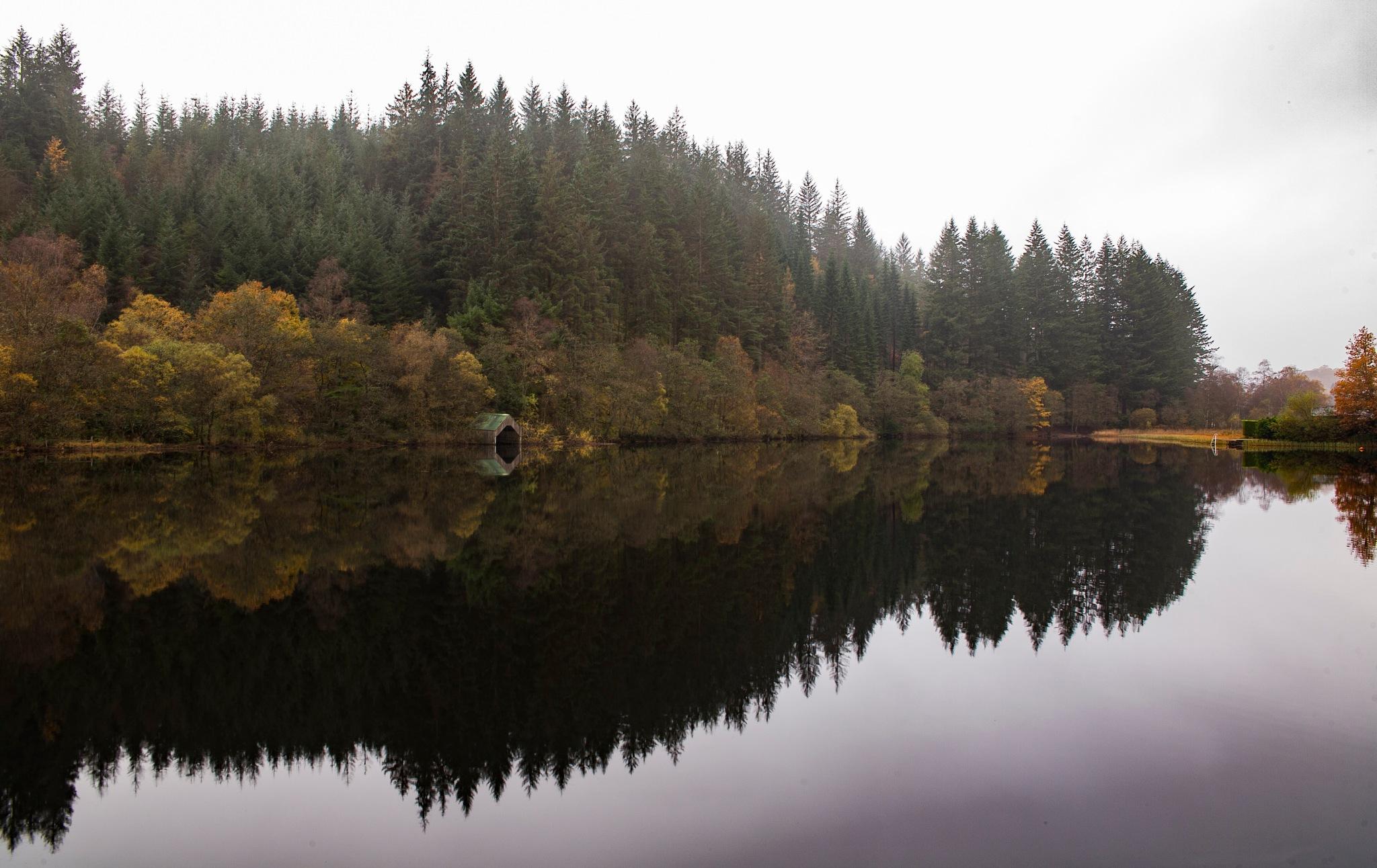 Loch Ard Basin & Boat Housing by andymax93