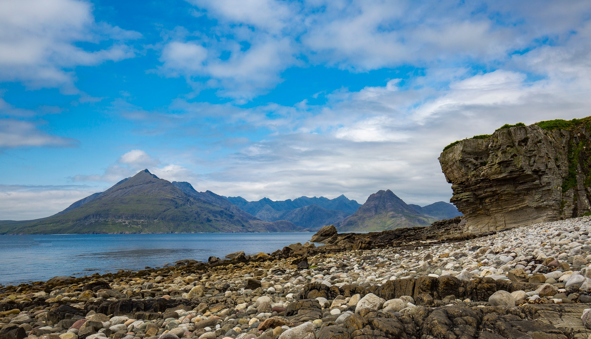 Elgol and the Cuillins, Isle of Skye, Scotland by andymax93