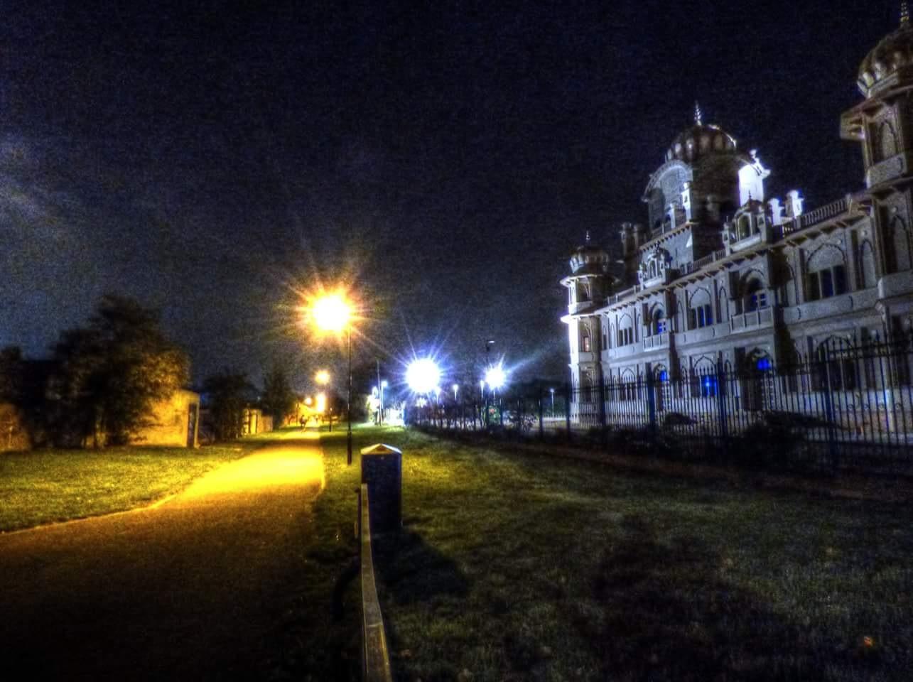 Gurdwara by night  by Steven Iodice