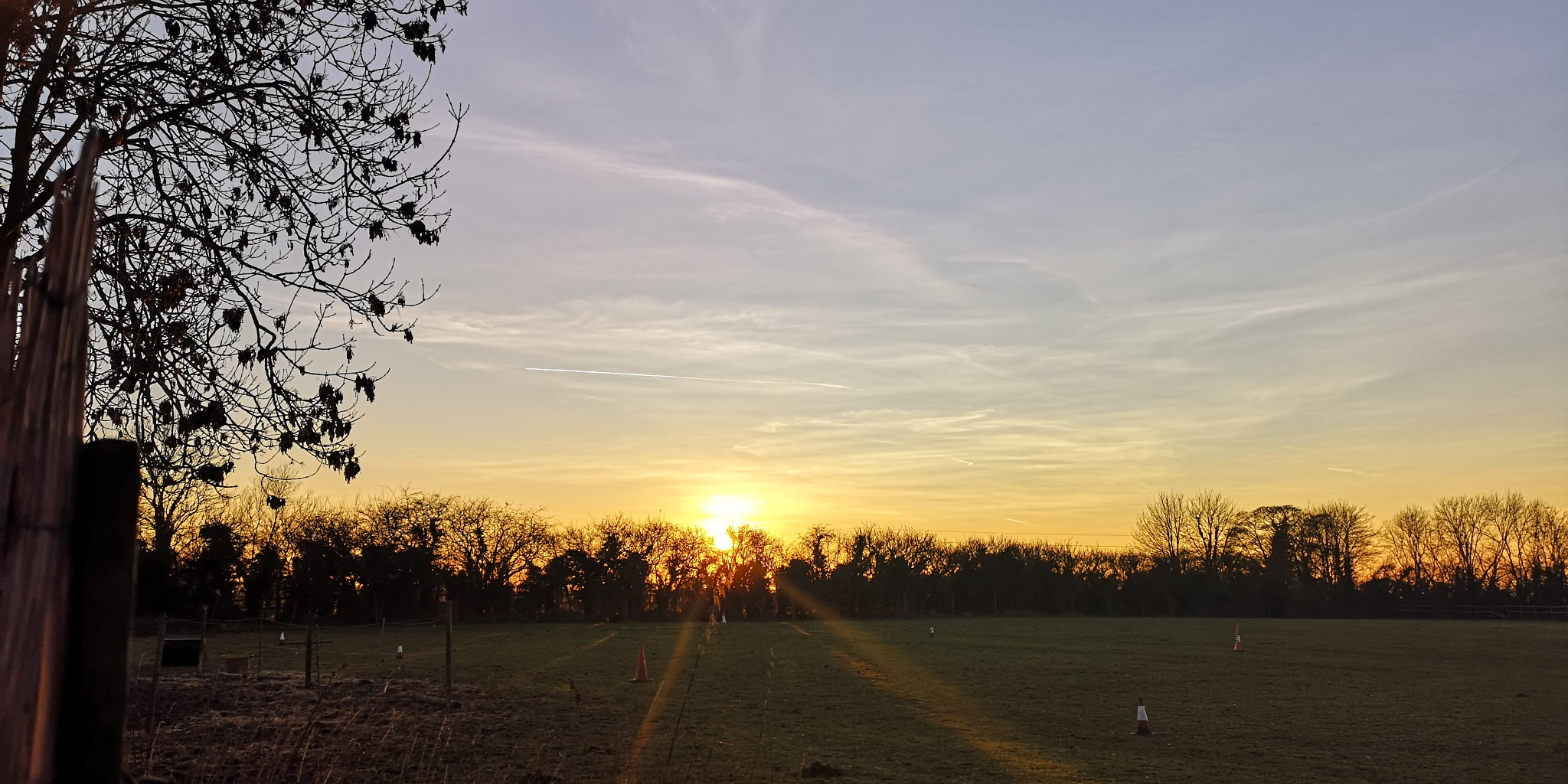 Photo in Landscape #winter #sunset #landscape #evening