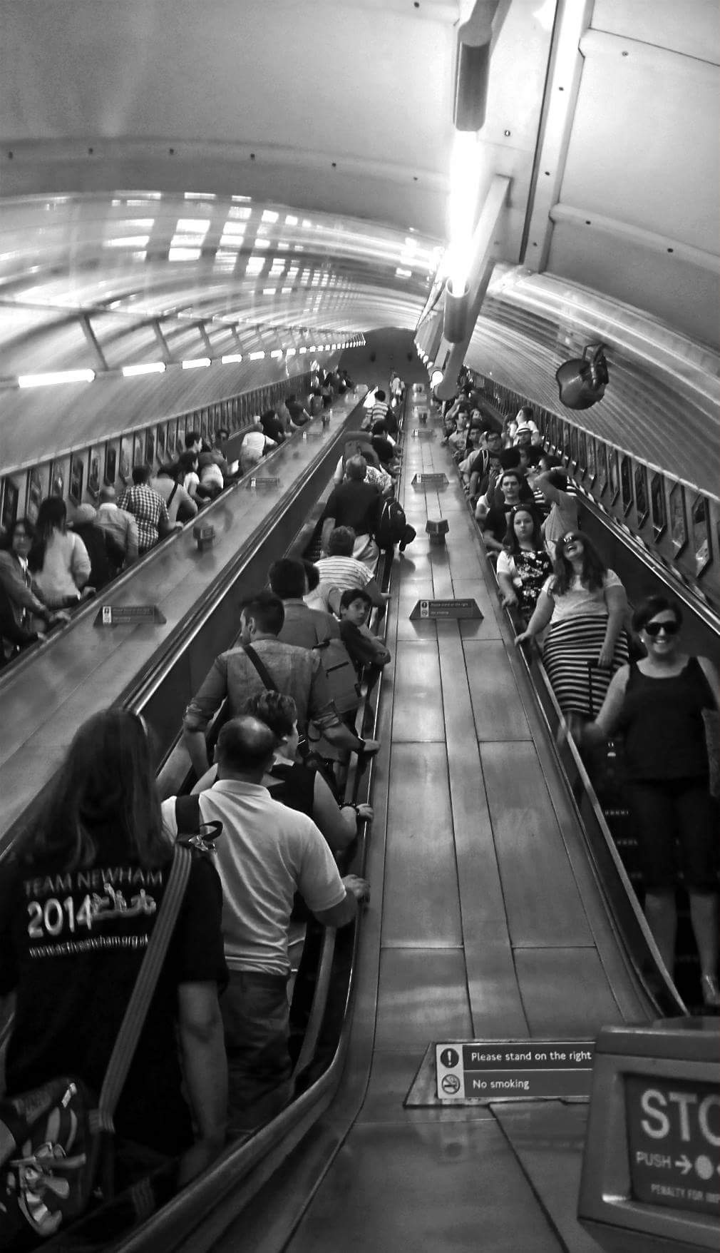 London Underground  by Steven Iodice