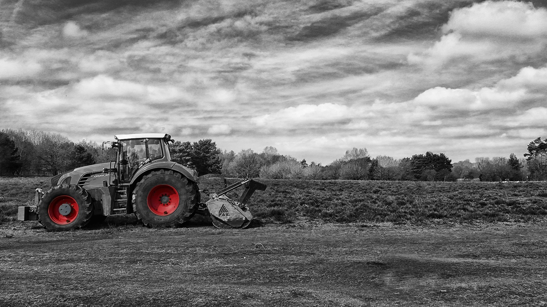 Tractor  by Steven Iodice