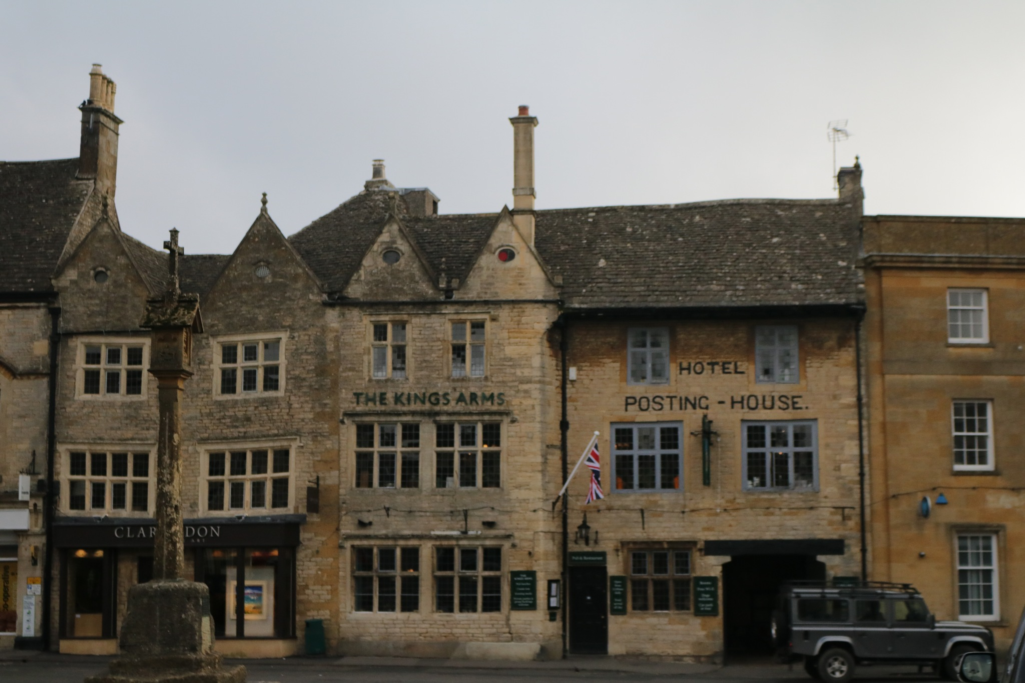 Old buildings in Stow by Mo Dessouki