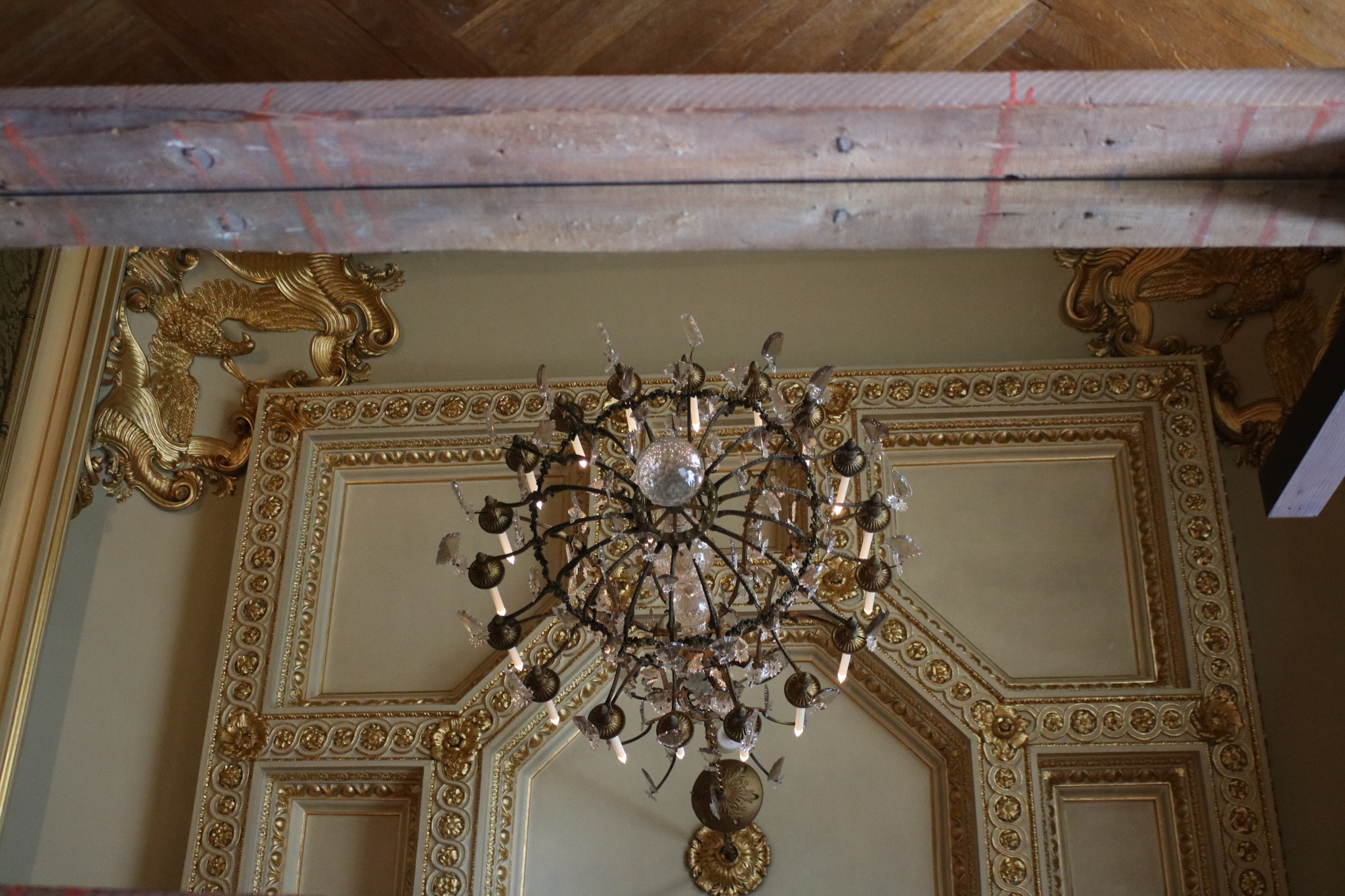 A ceiling at Blenhiem Palace by Mo Dessouki