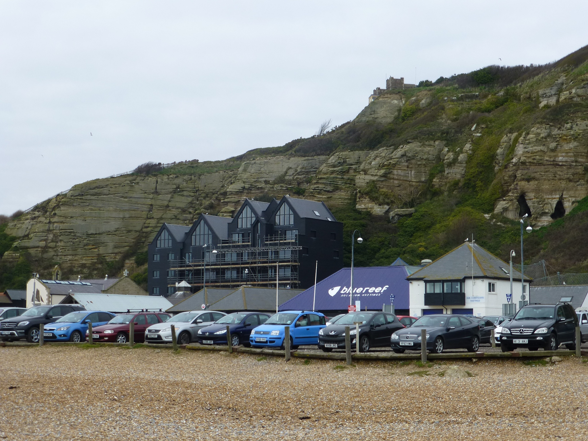 Rock a nor, Edge of Hastings Old Town by Mo Dessouki