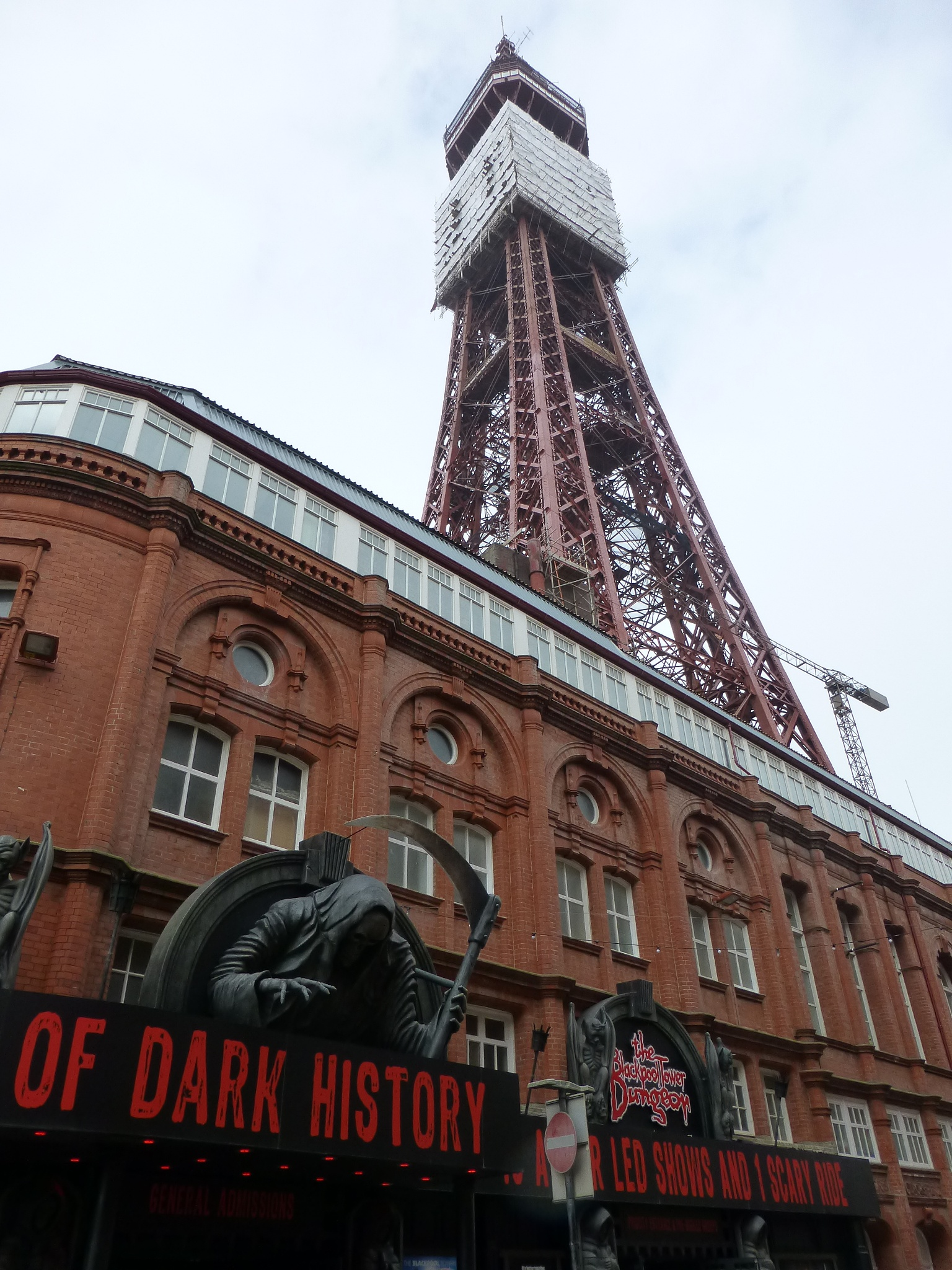 Blackpool Tower by Mo Dessouki