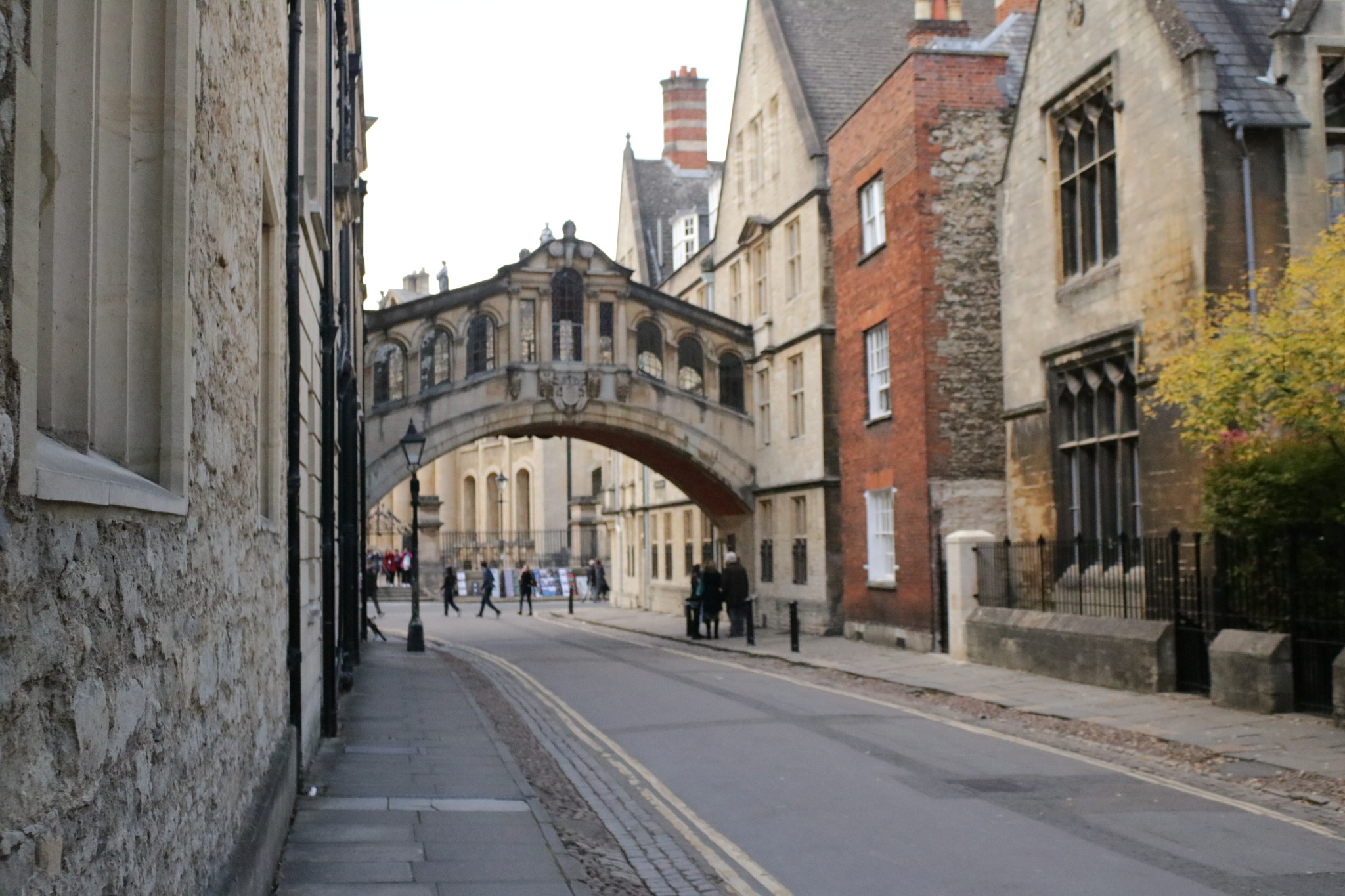 Oxford Bridge of sighs from the otherside. by Mo Dessouki