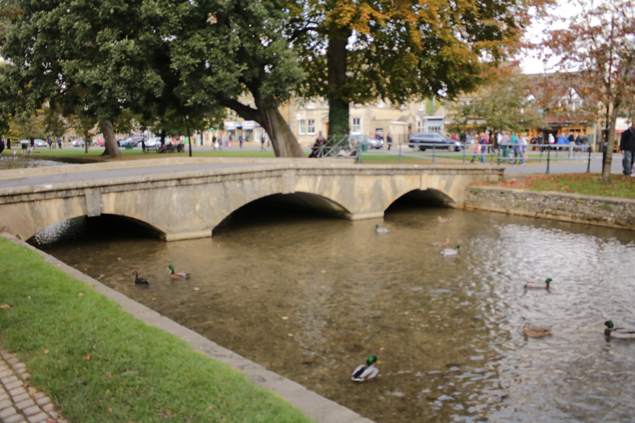 Bourton on The Water ... it has few bridges by Mo Dessouki
