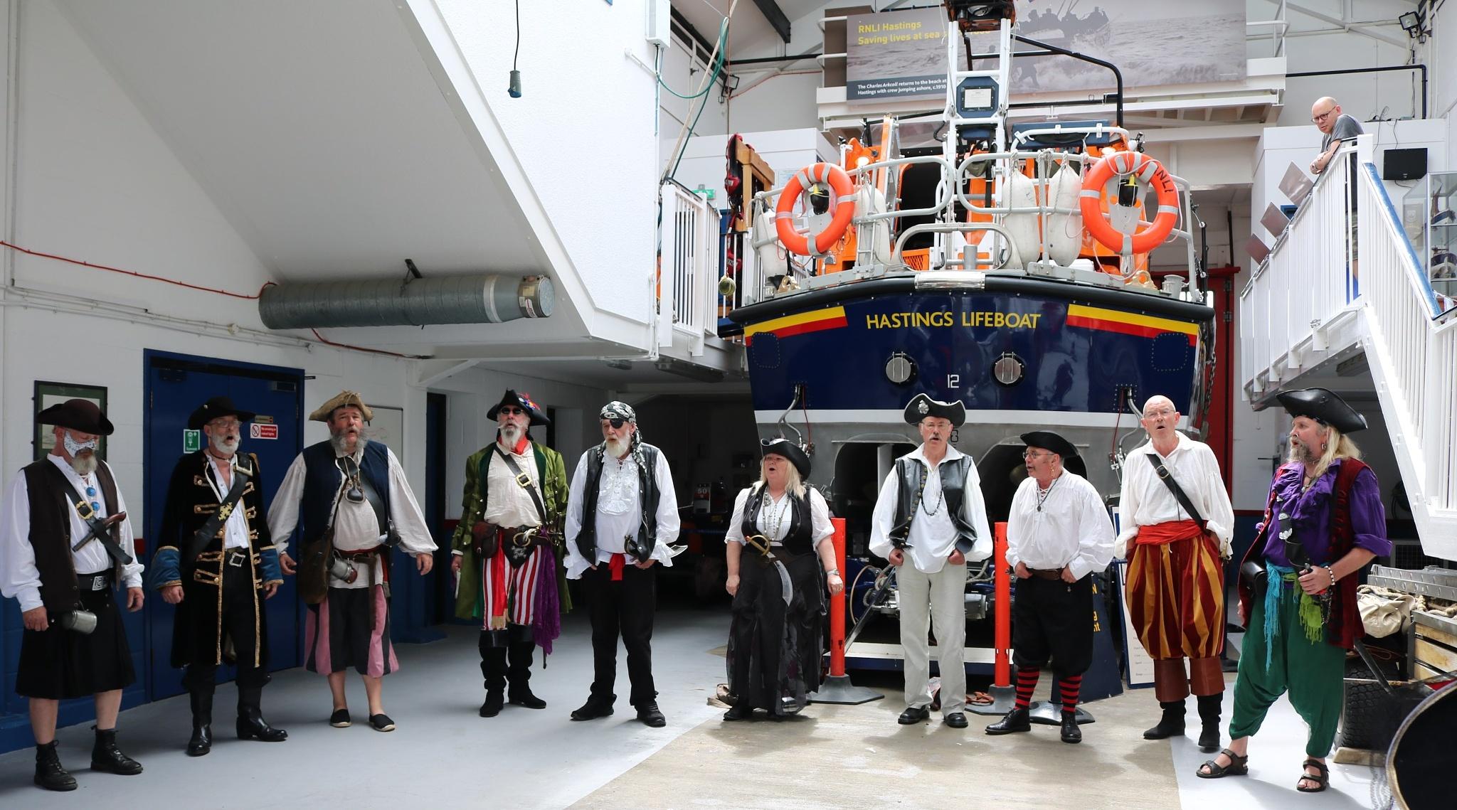 At Hastings Life boat by Mo Dessouki