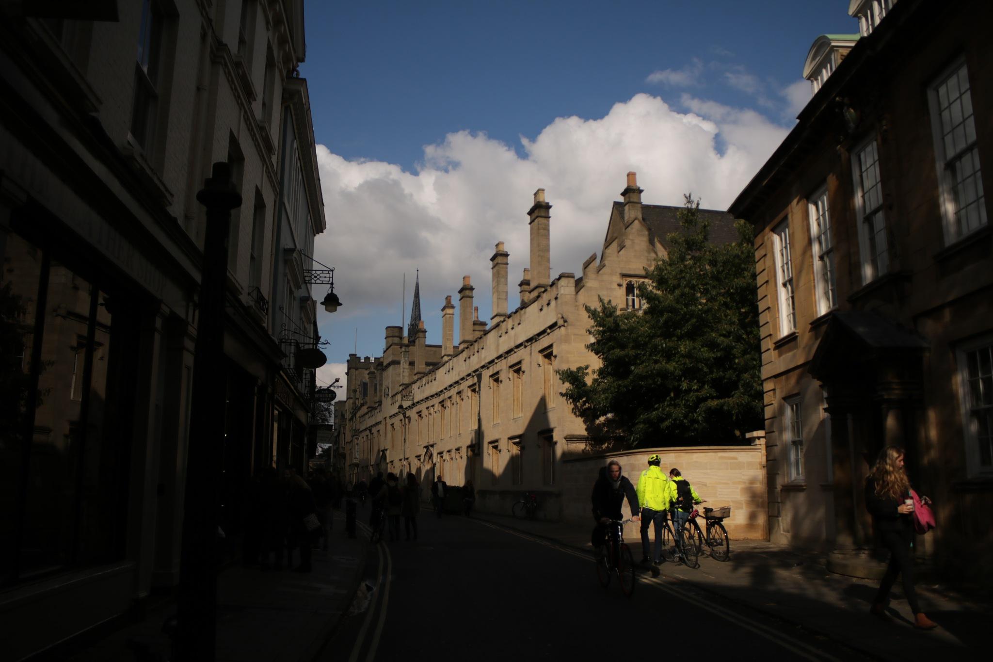 around Oxford univeristy  by Mo Dessouki