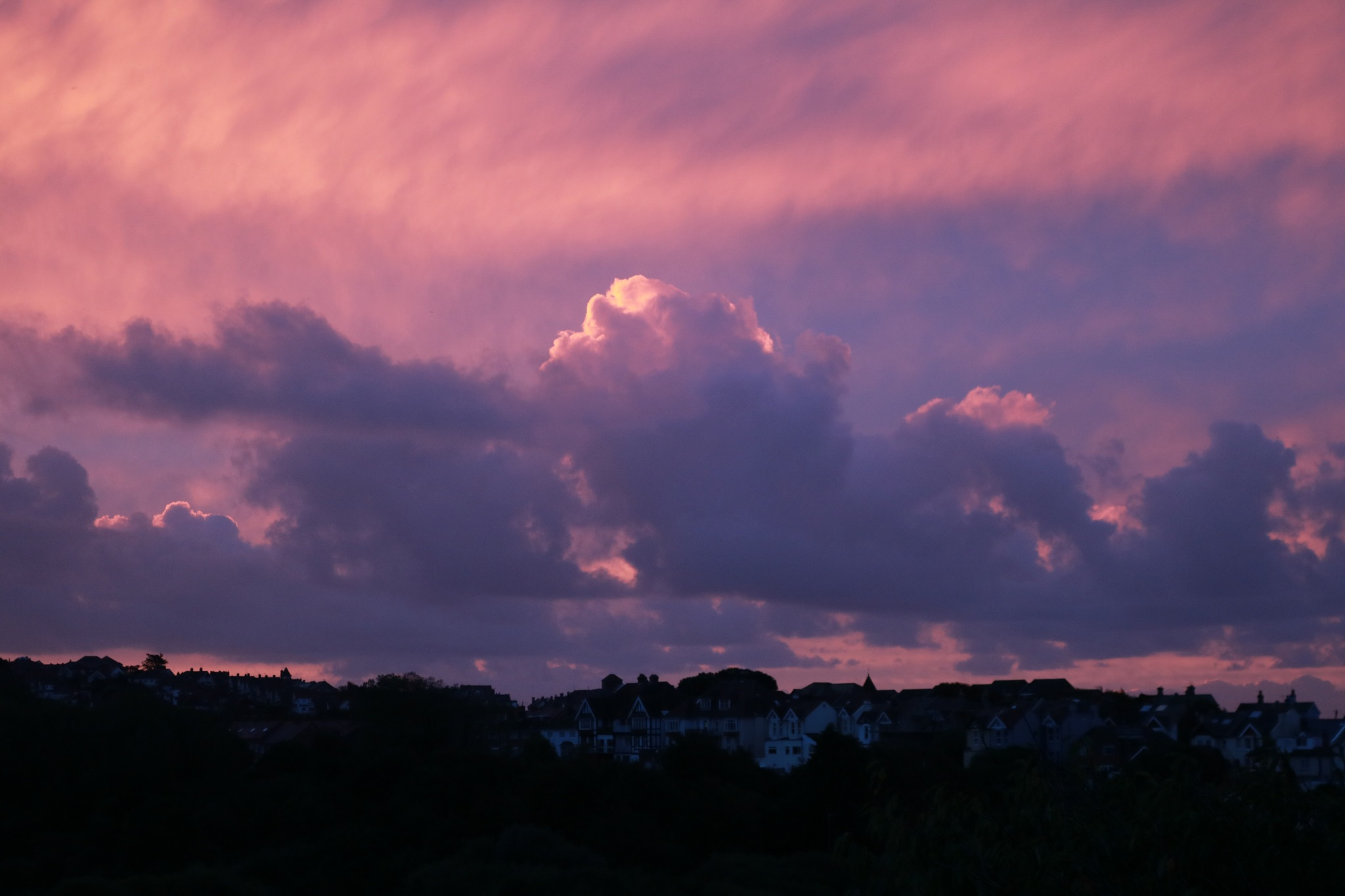 Automnal morning over St Leonards by Mo Dessouki