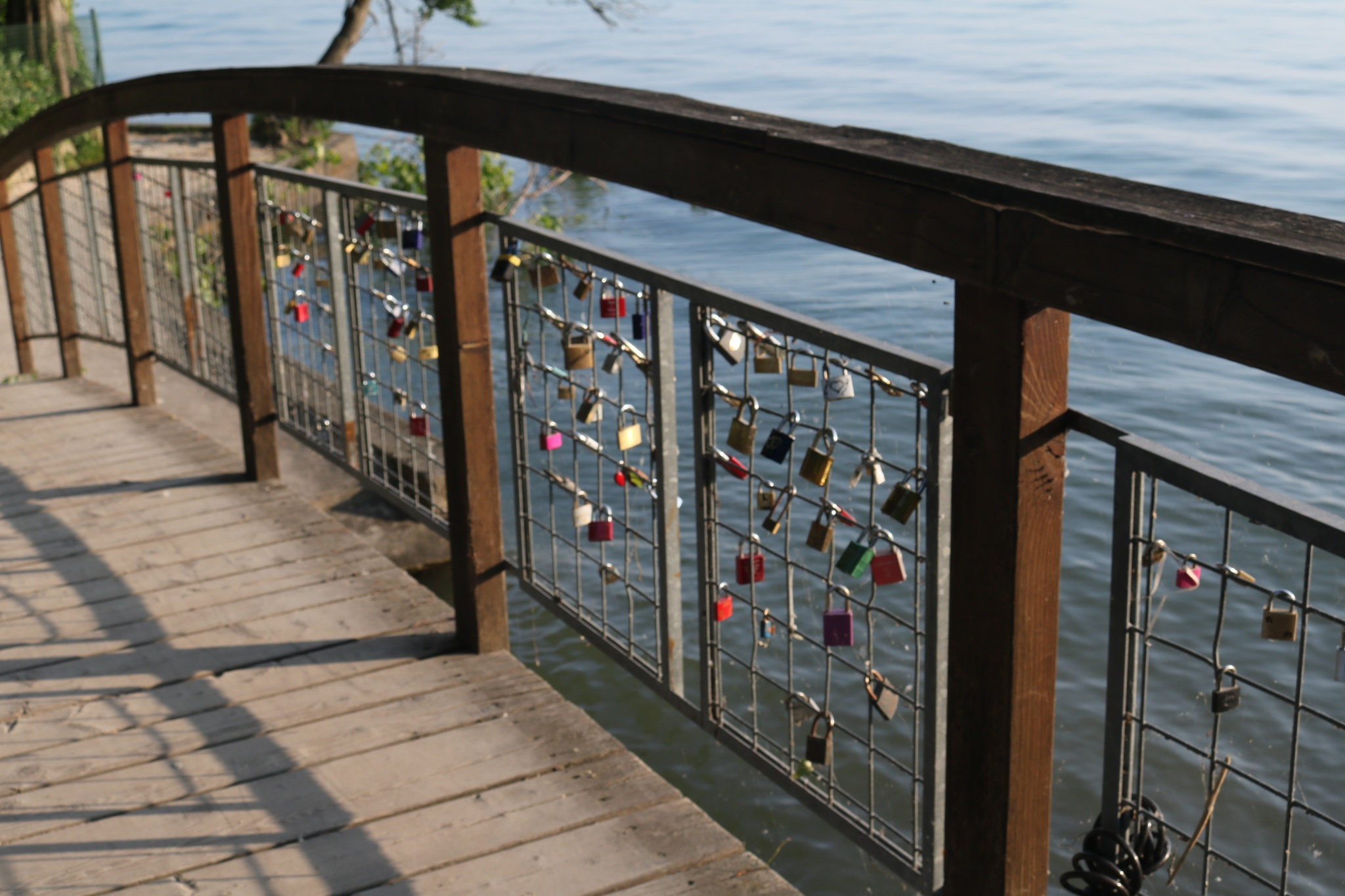 love padlocks on the lake! by Mo Dessouki