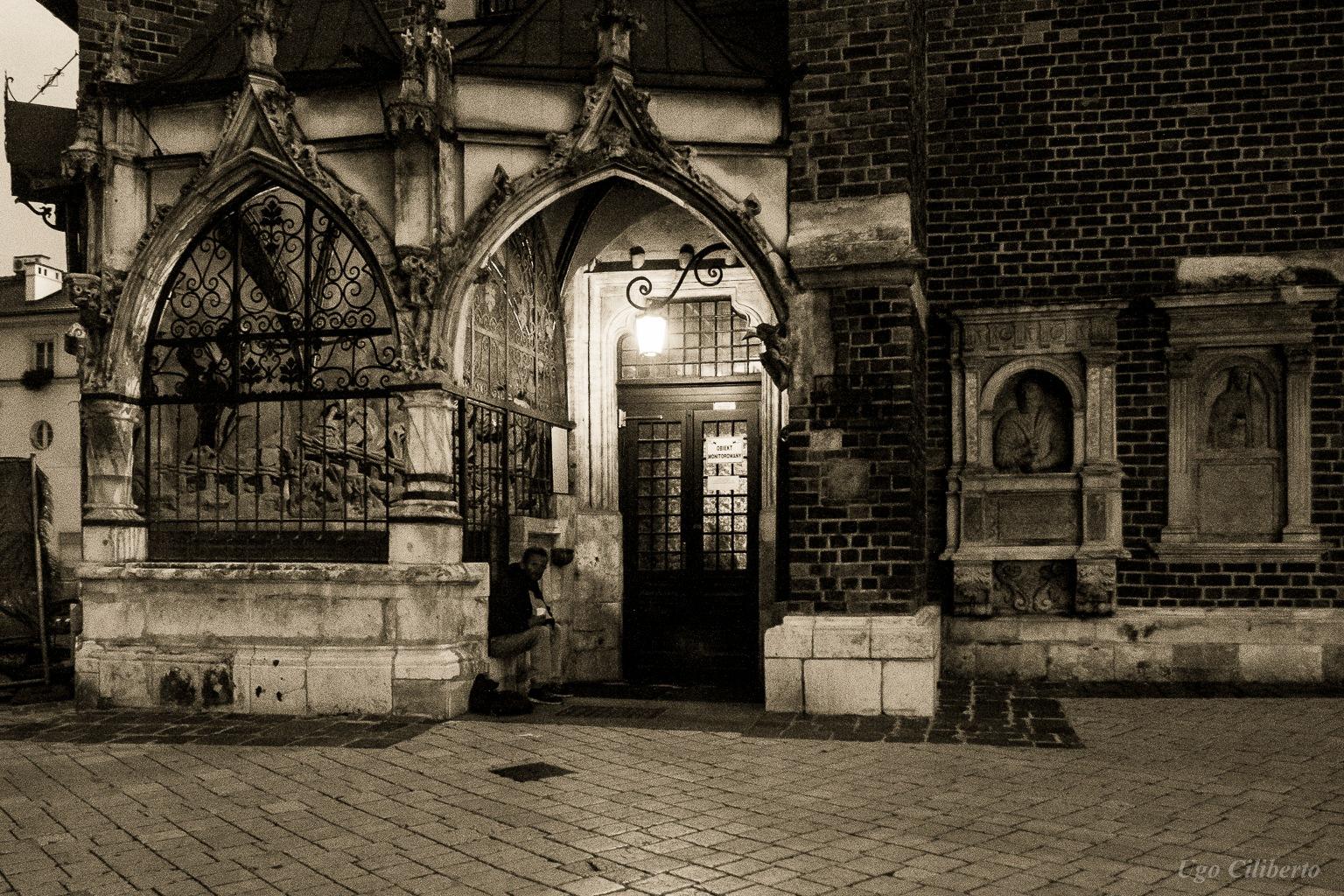 Cracovia - Chiesa di Santa Barbara by ugo