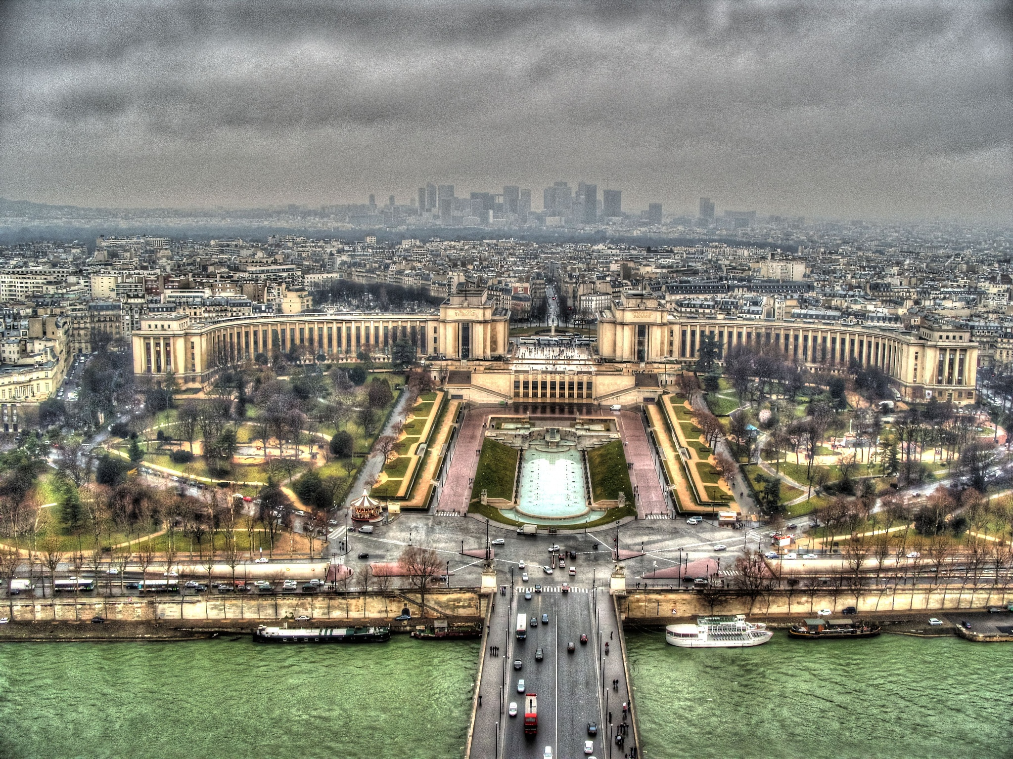 Parisian View by Steve Rowe