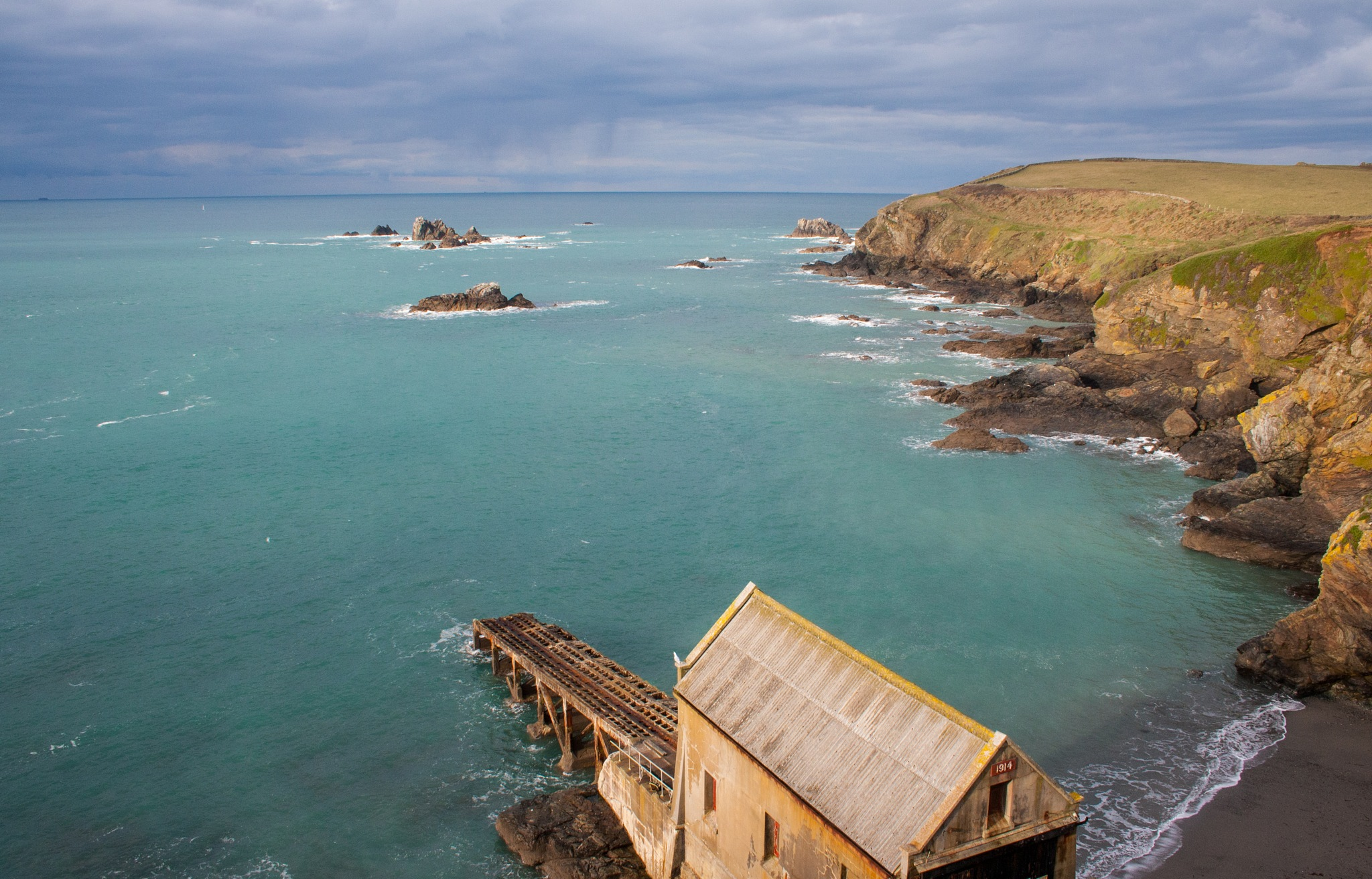 The Old Lifeboat House by Steve Rowe