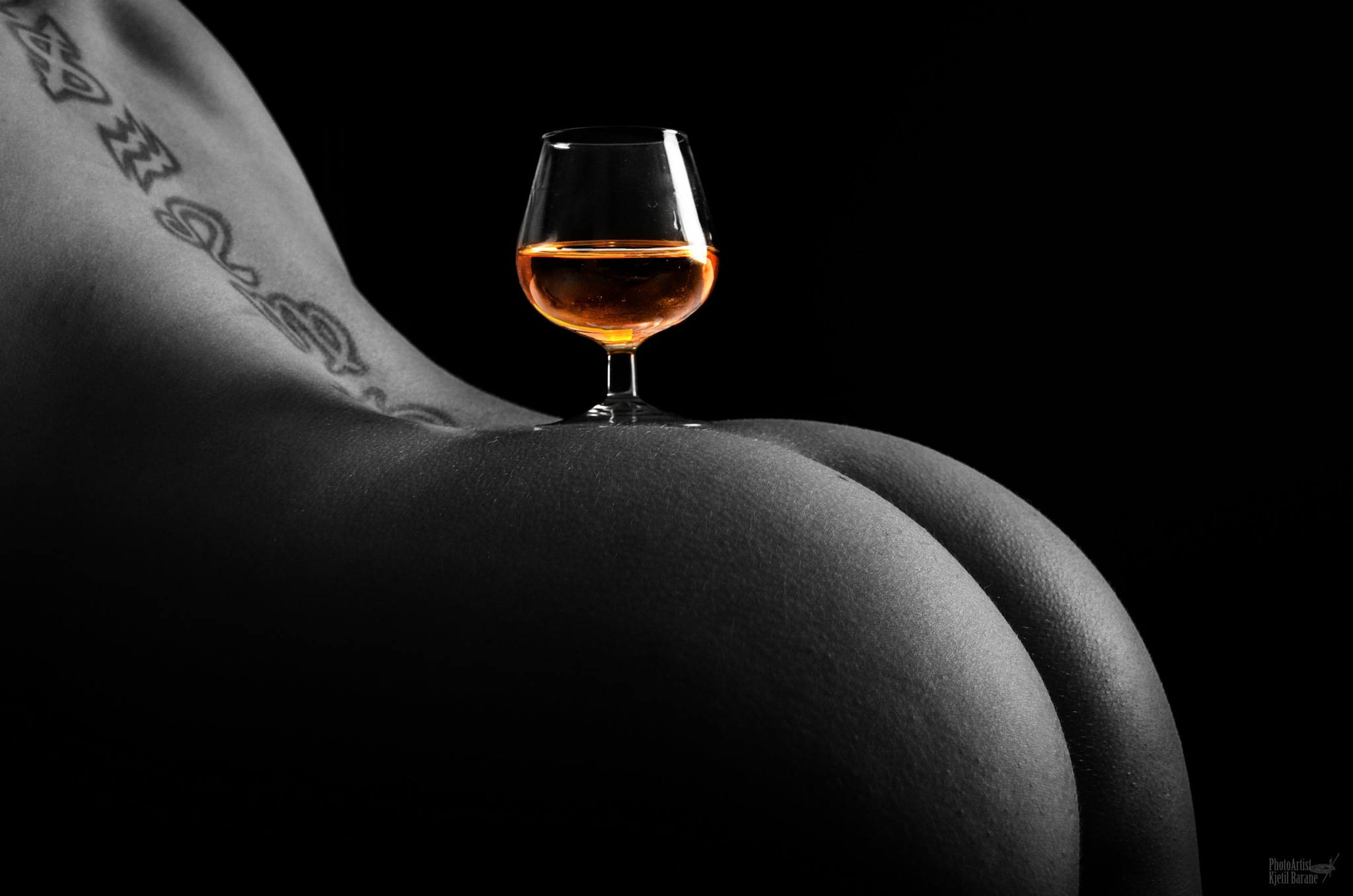 Cognac is serve`d by Kjetil Barane