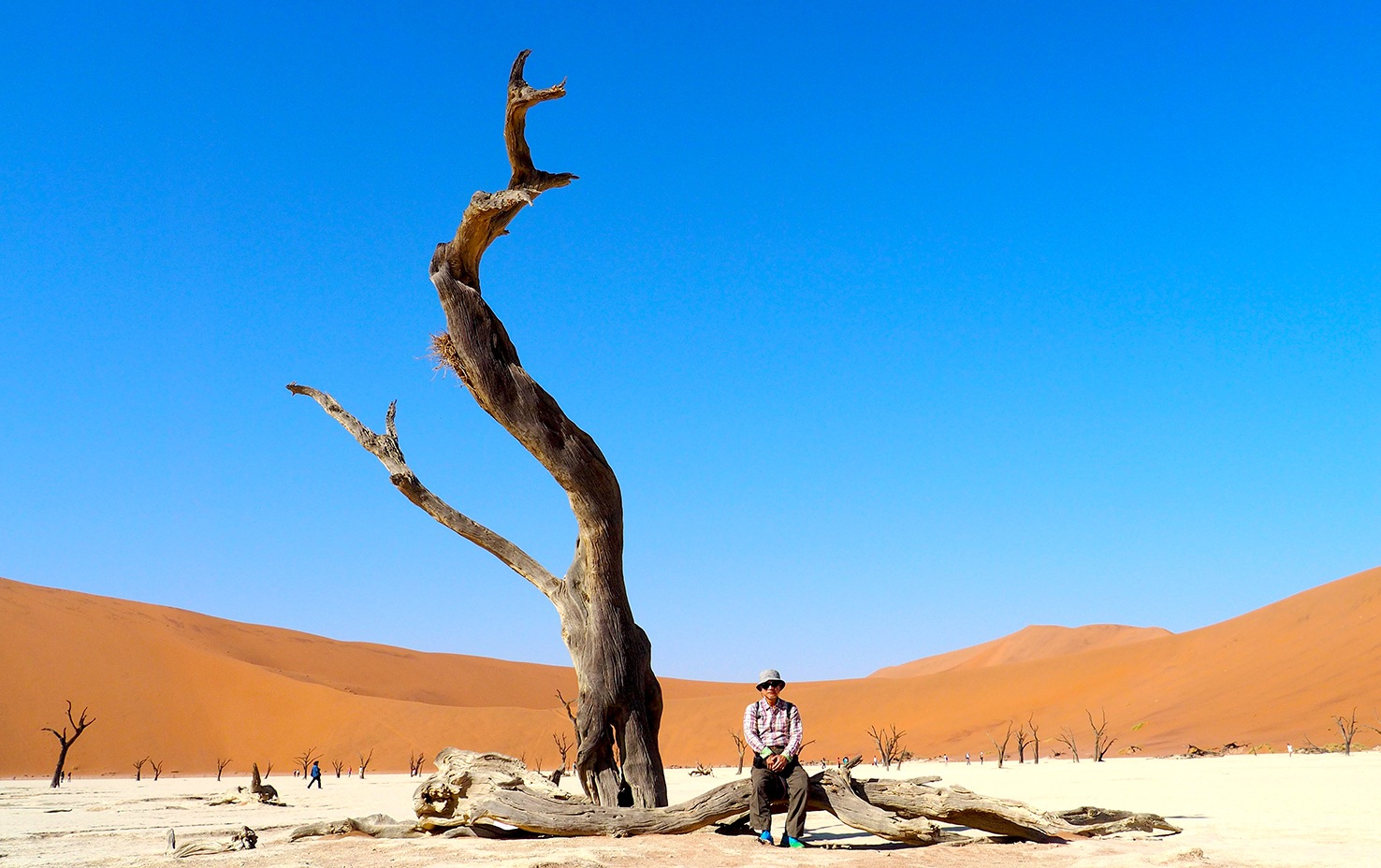 Me and the desert by Peter Liu
