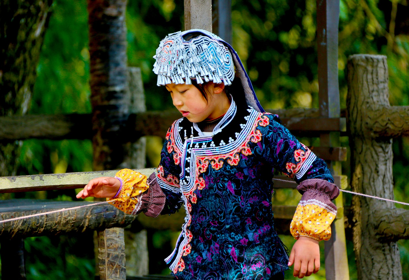 People (42) China tribal child by Peter Liu