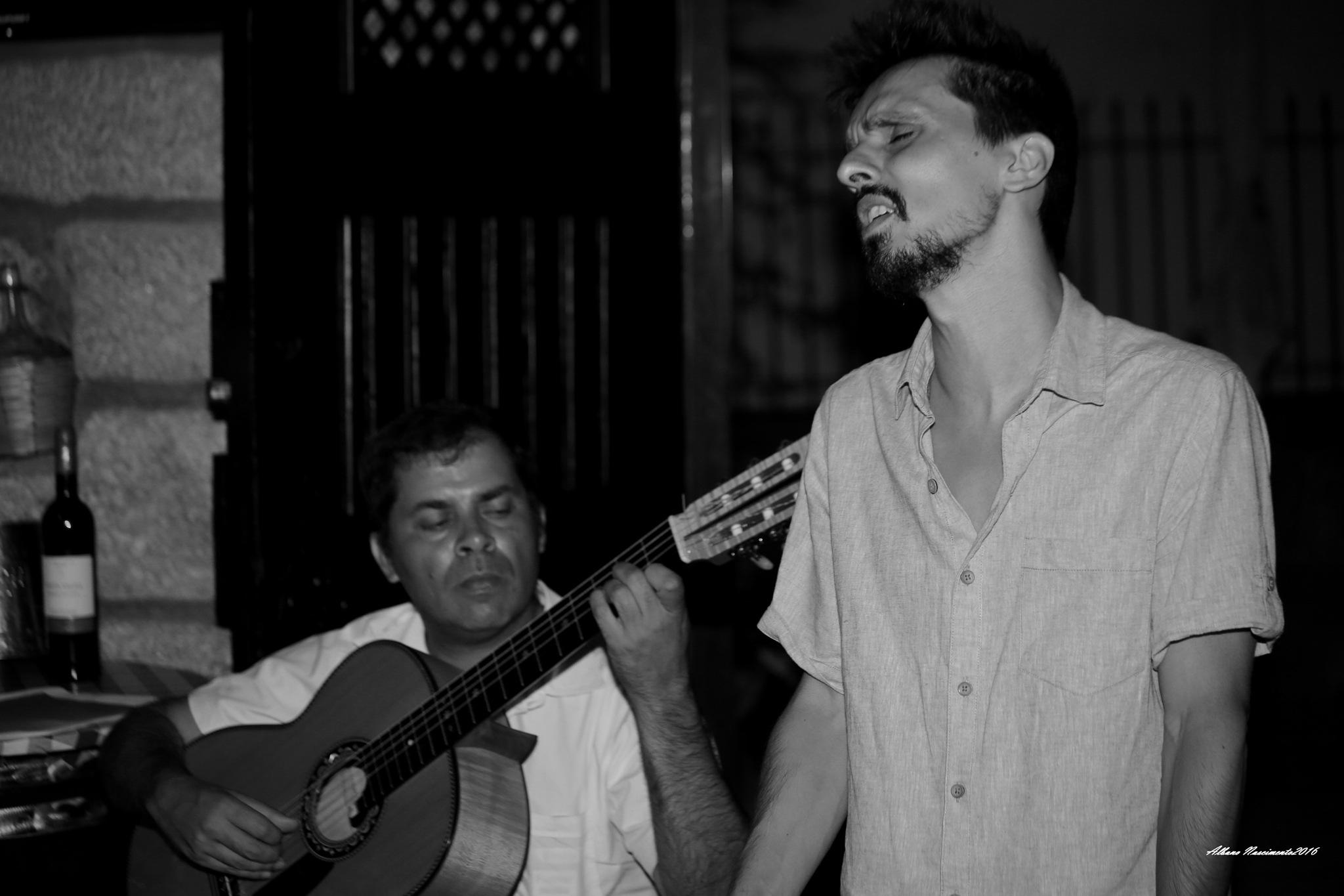 A voz  -  Fado by Albano Nascimento