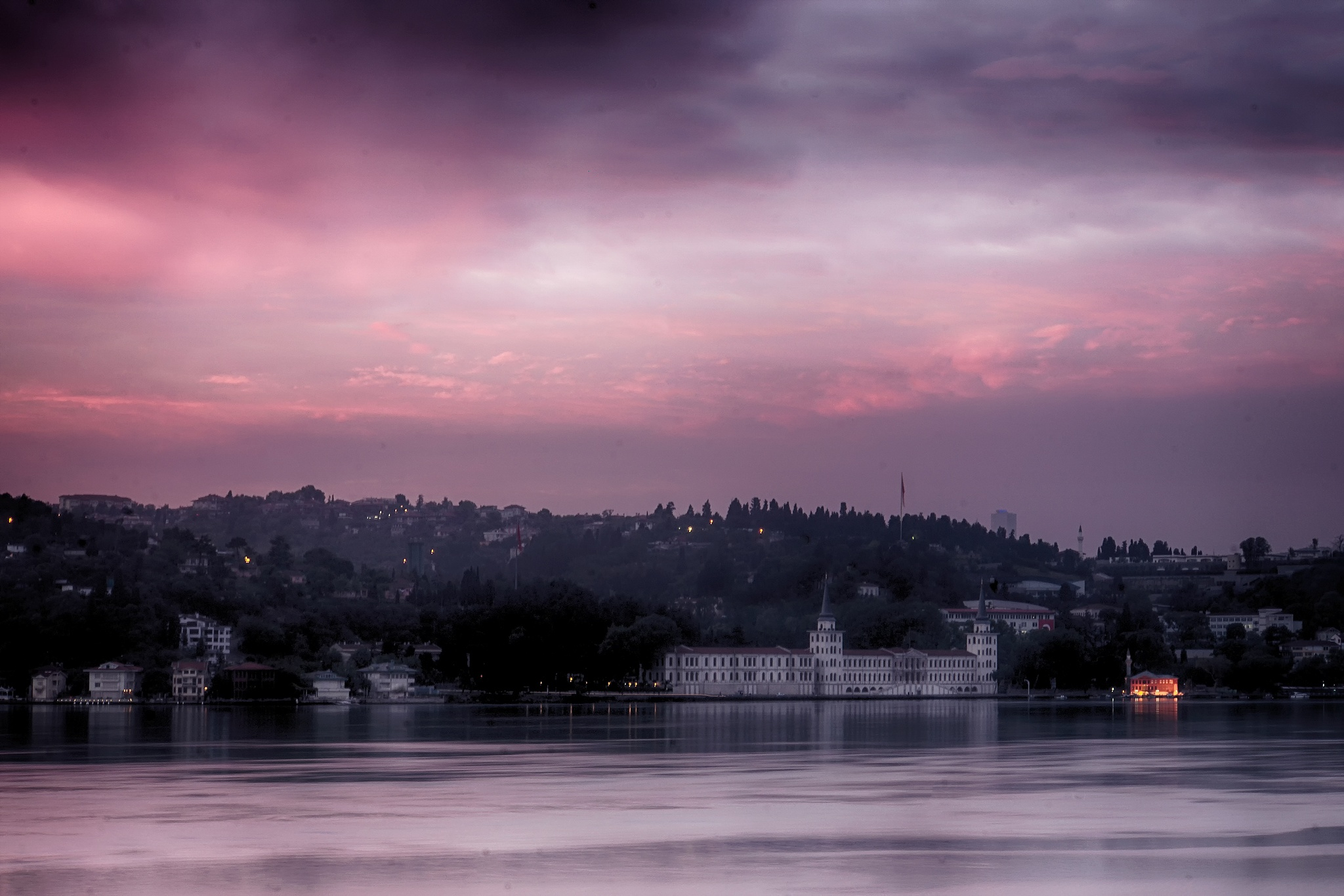 dawn in the city by Kader Eryavuz