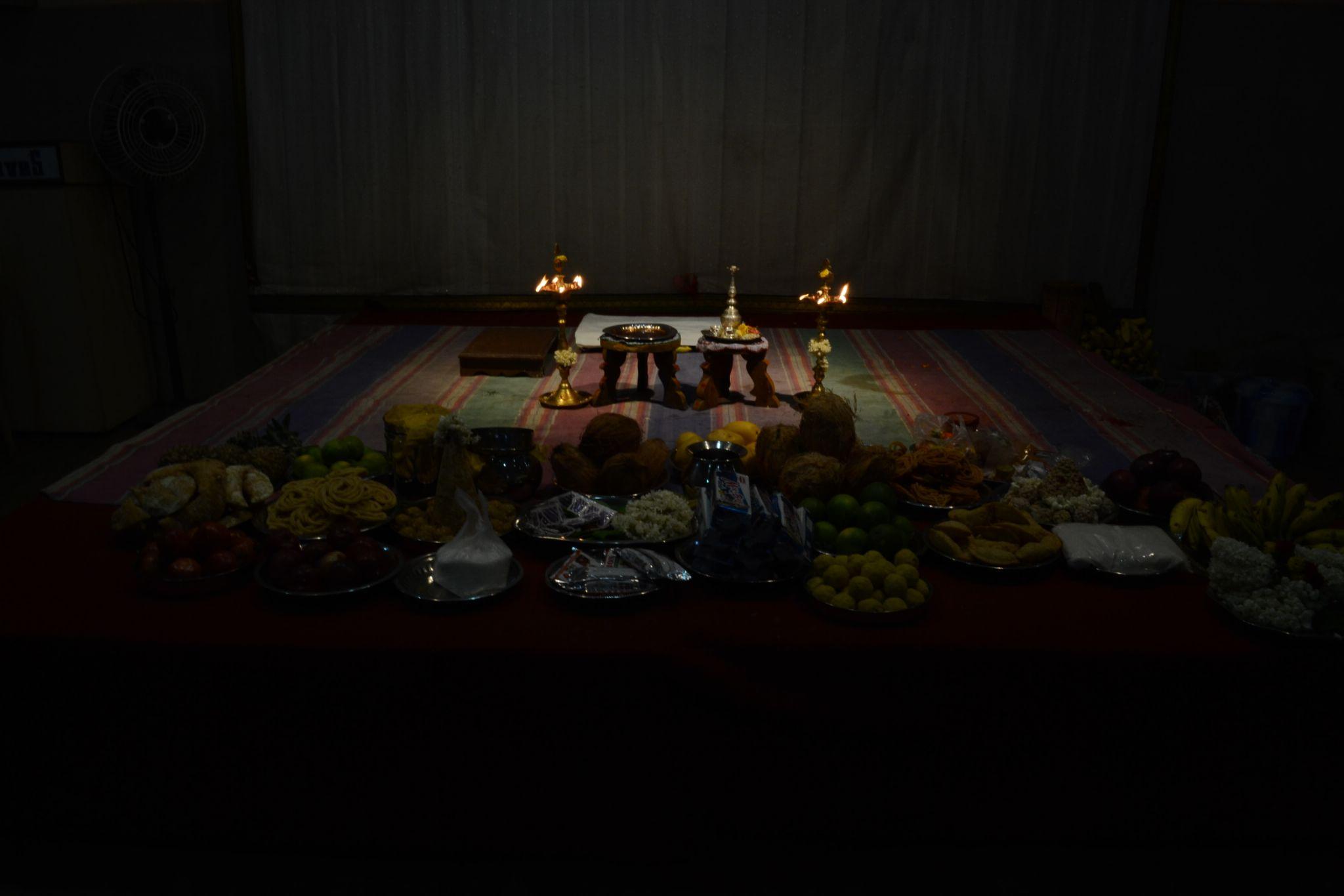 Indian engagement stage by Yuvaraj Karthik