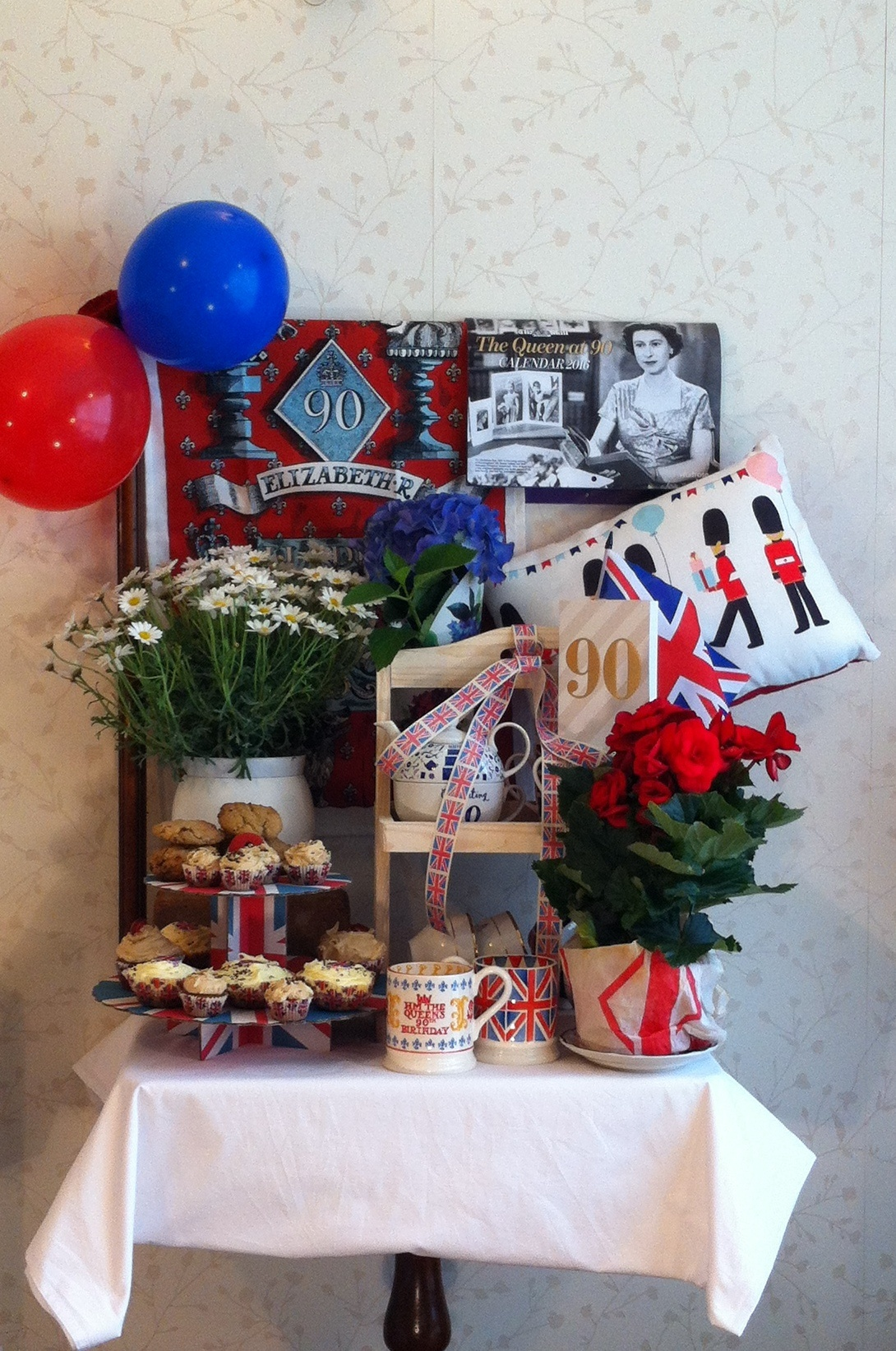 HM The Queen 90th Birthday Salute by MargaretHalstead