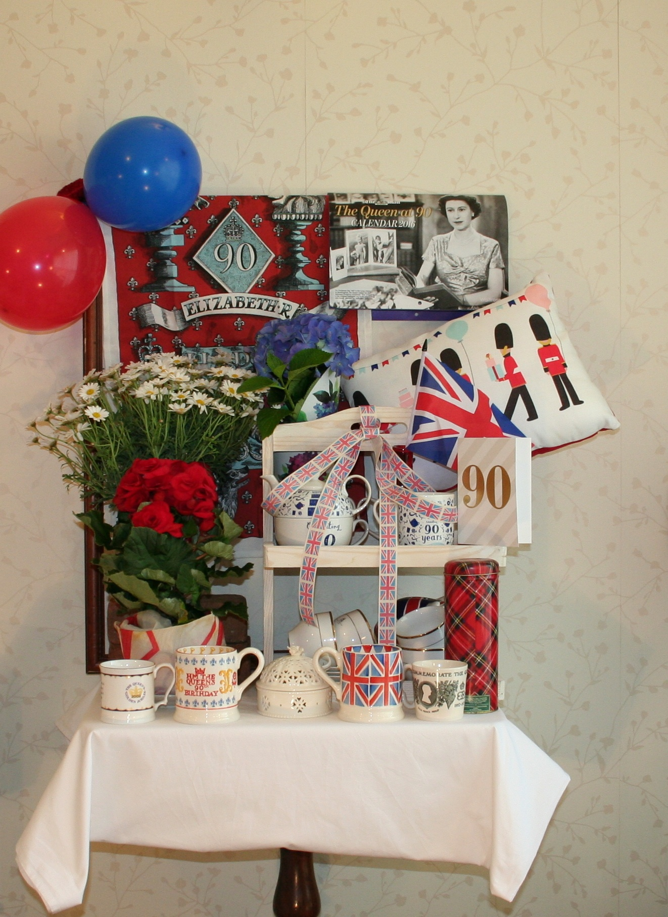90th Birthday Greetings, Your Majesty by MargaretHalstead