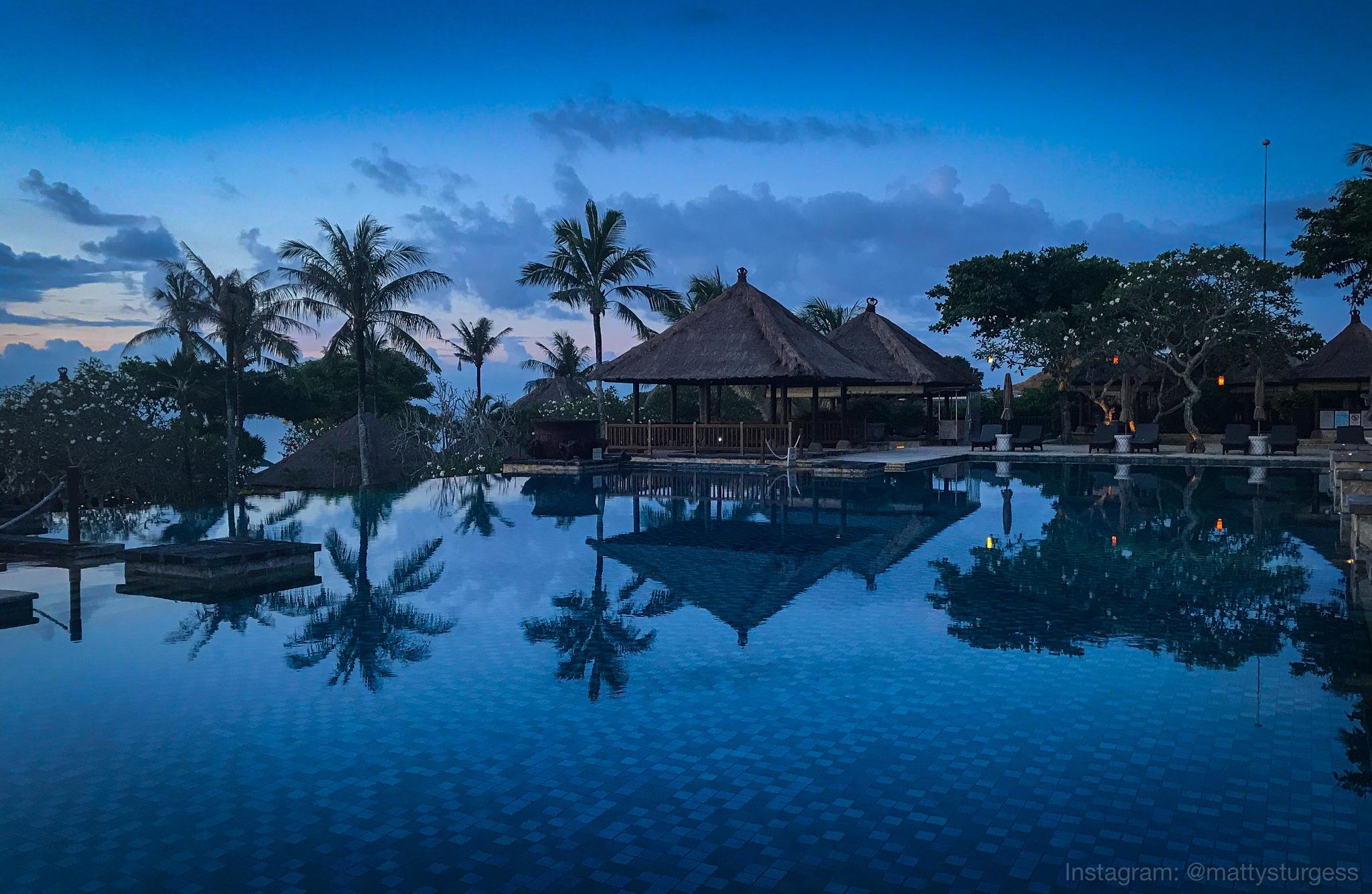 Bali (Blue Hour) by Matthew H Sturgess