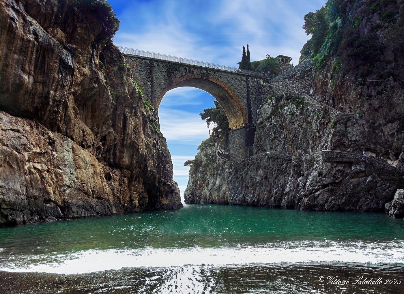 Fiordo di Furore (SA) - Italy by Vittorio Salatiello