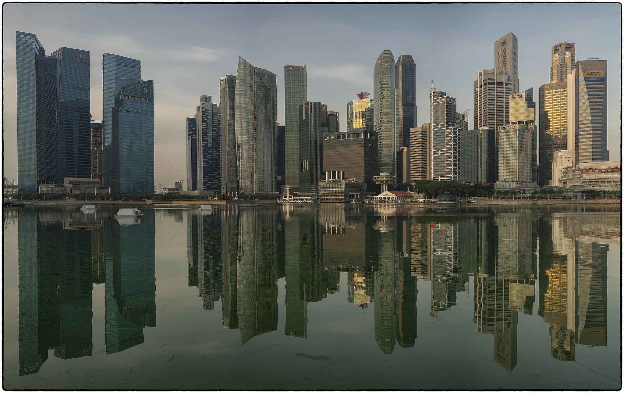 The Mirror City by mathori