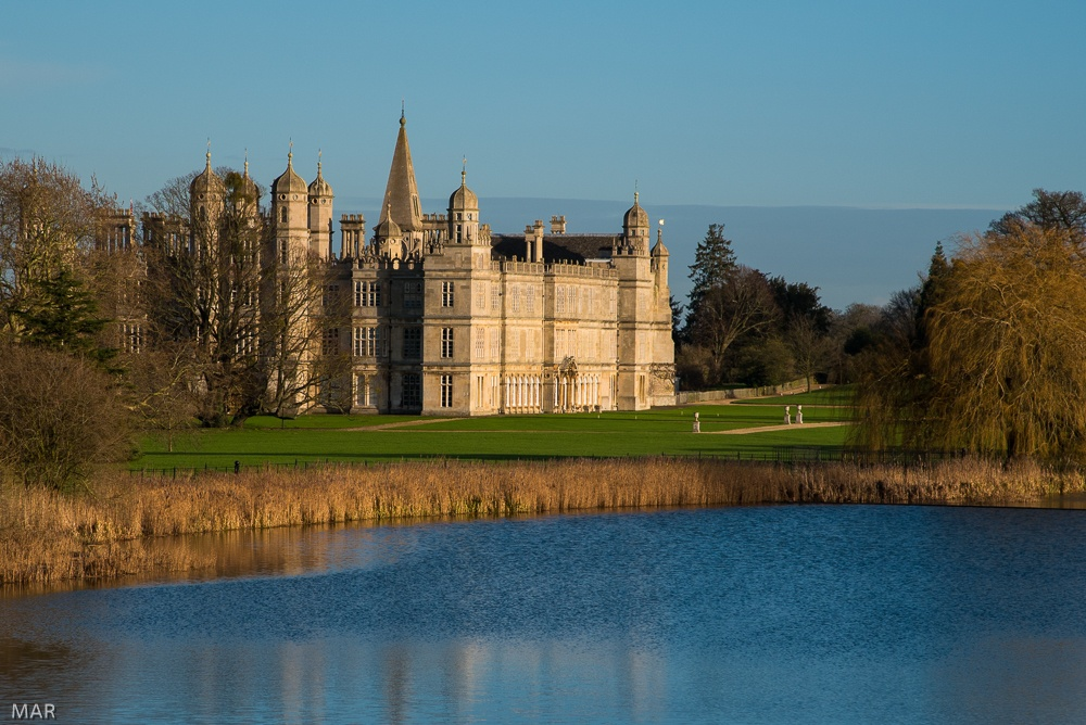 Photo in Architecture #burghley #water #travel