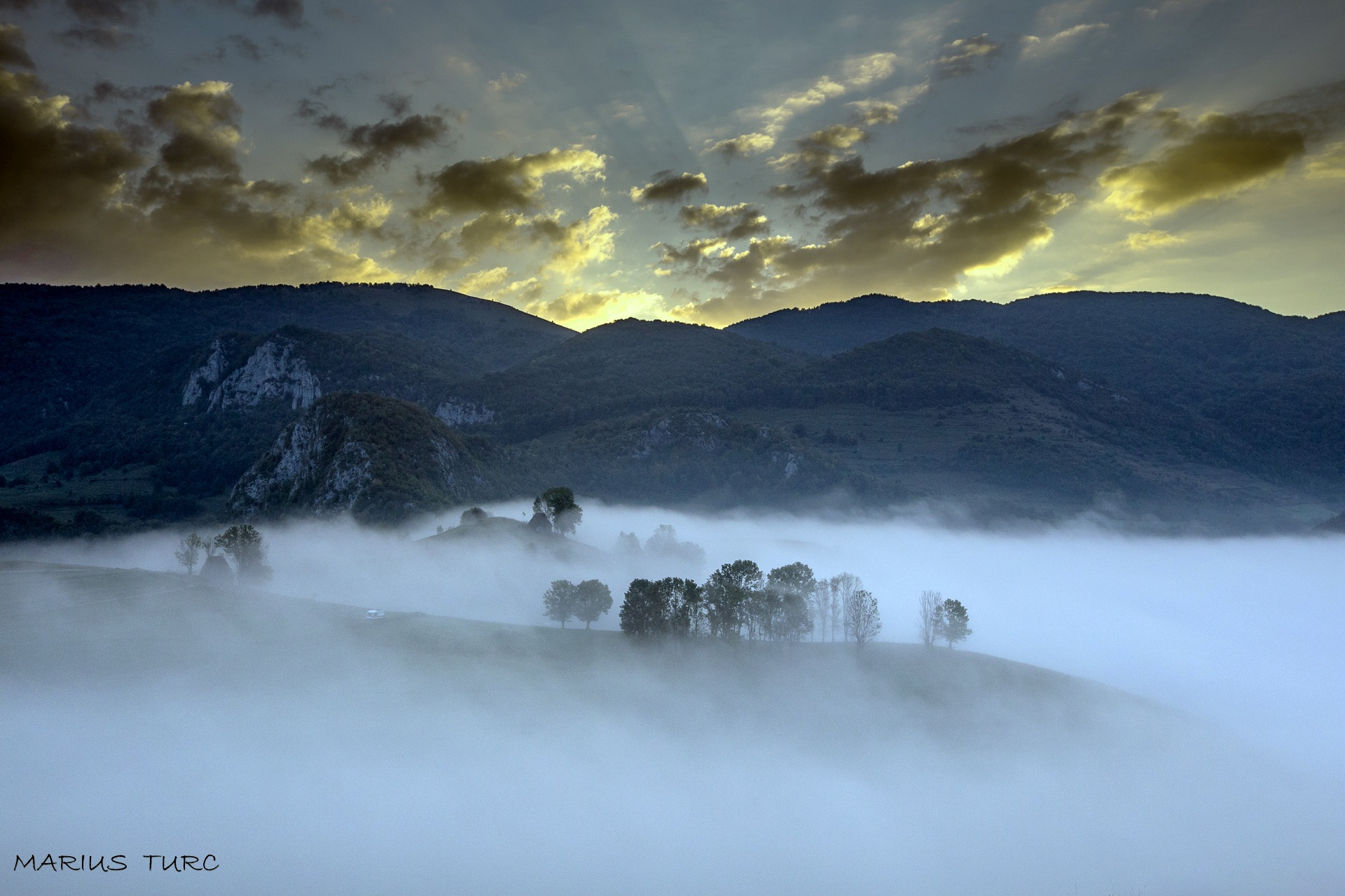 Fire and mist by TurcMarius