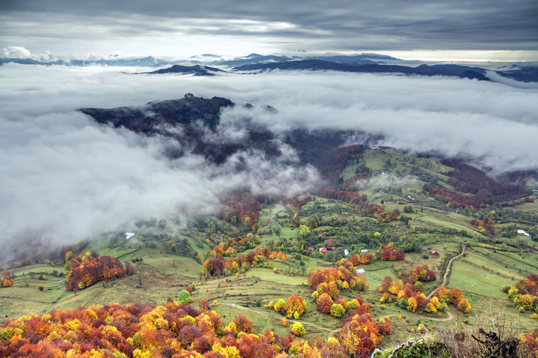 Beyond the clouds by TurcMarius