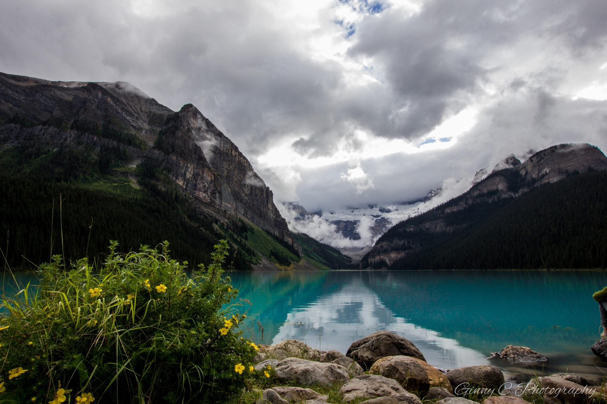 Lake Louise, Alberta, Canada  by GinnyCPhotography