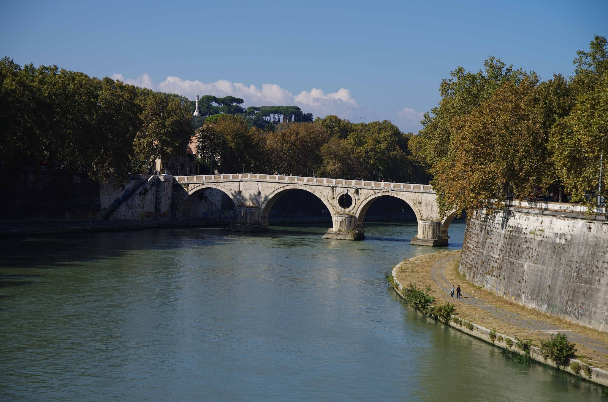 Rome/ Walking the Tiber River by EdwardStern