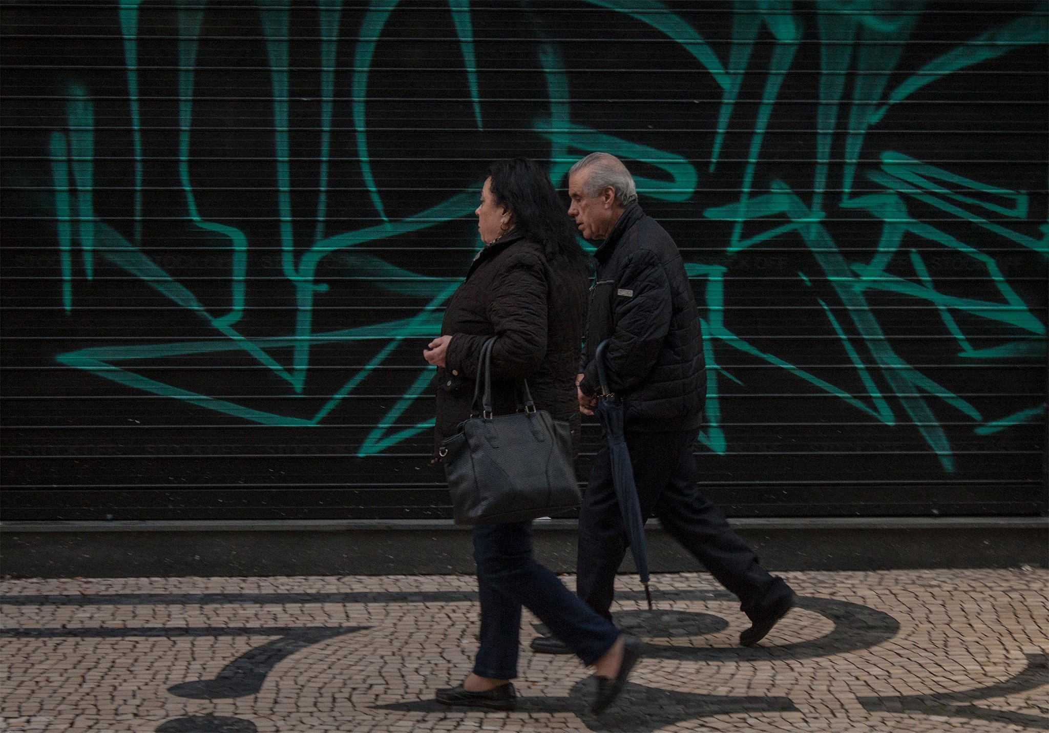 In the high street by David Machado