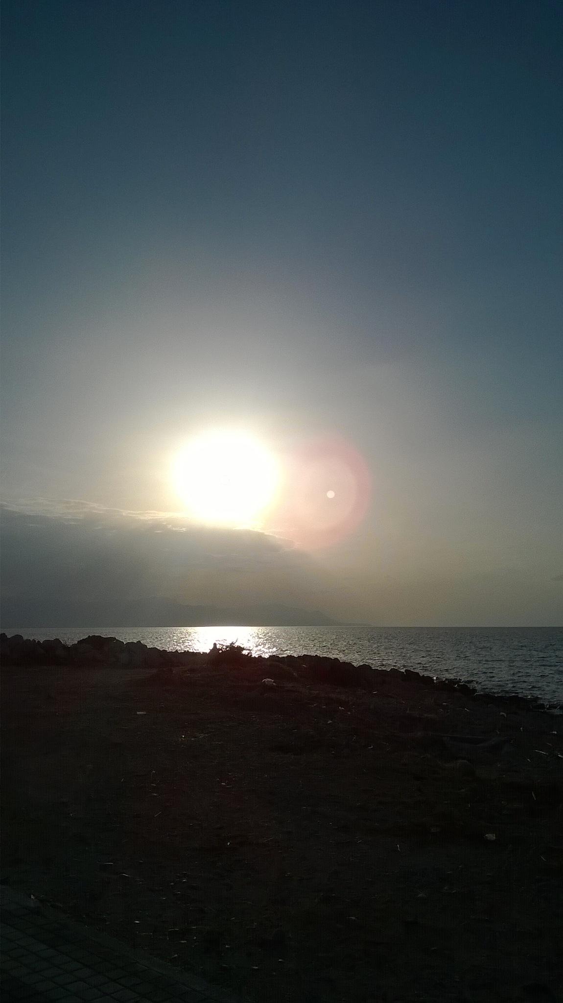 Corinthos sunset by madelou12