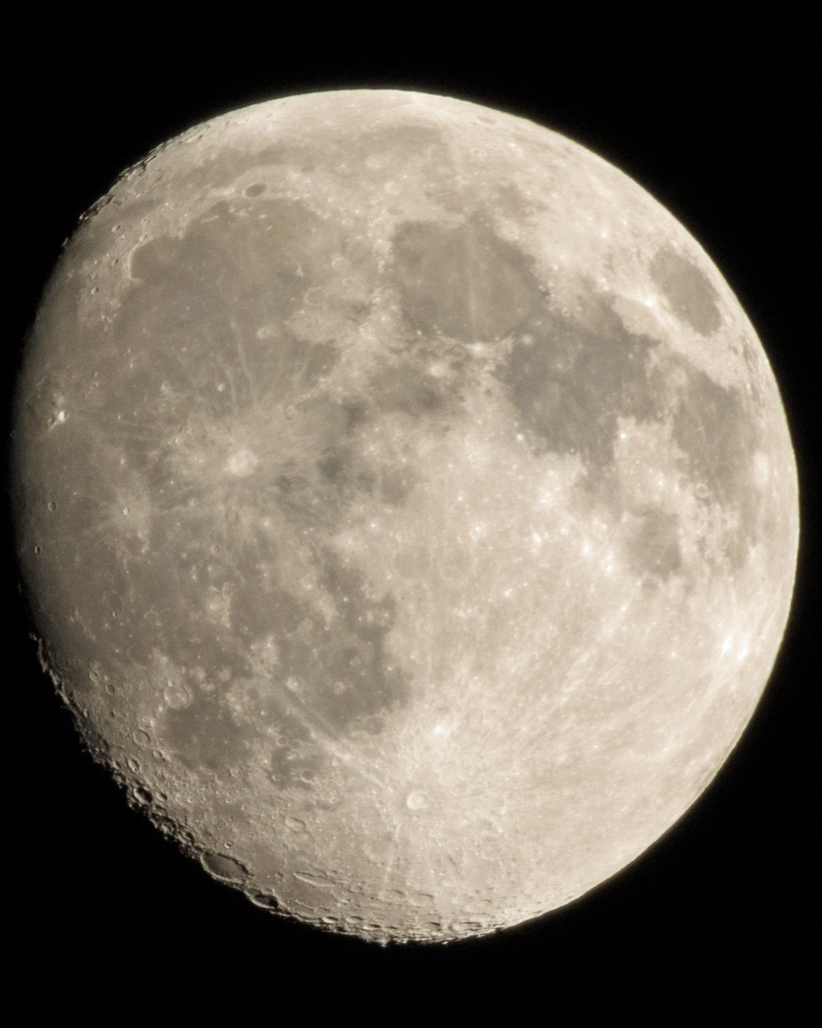 Photo in Astrophotography #moon #oklahoma #september 13
