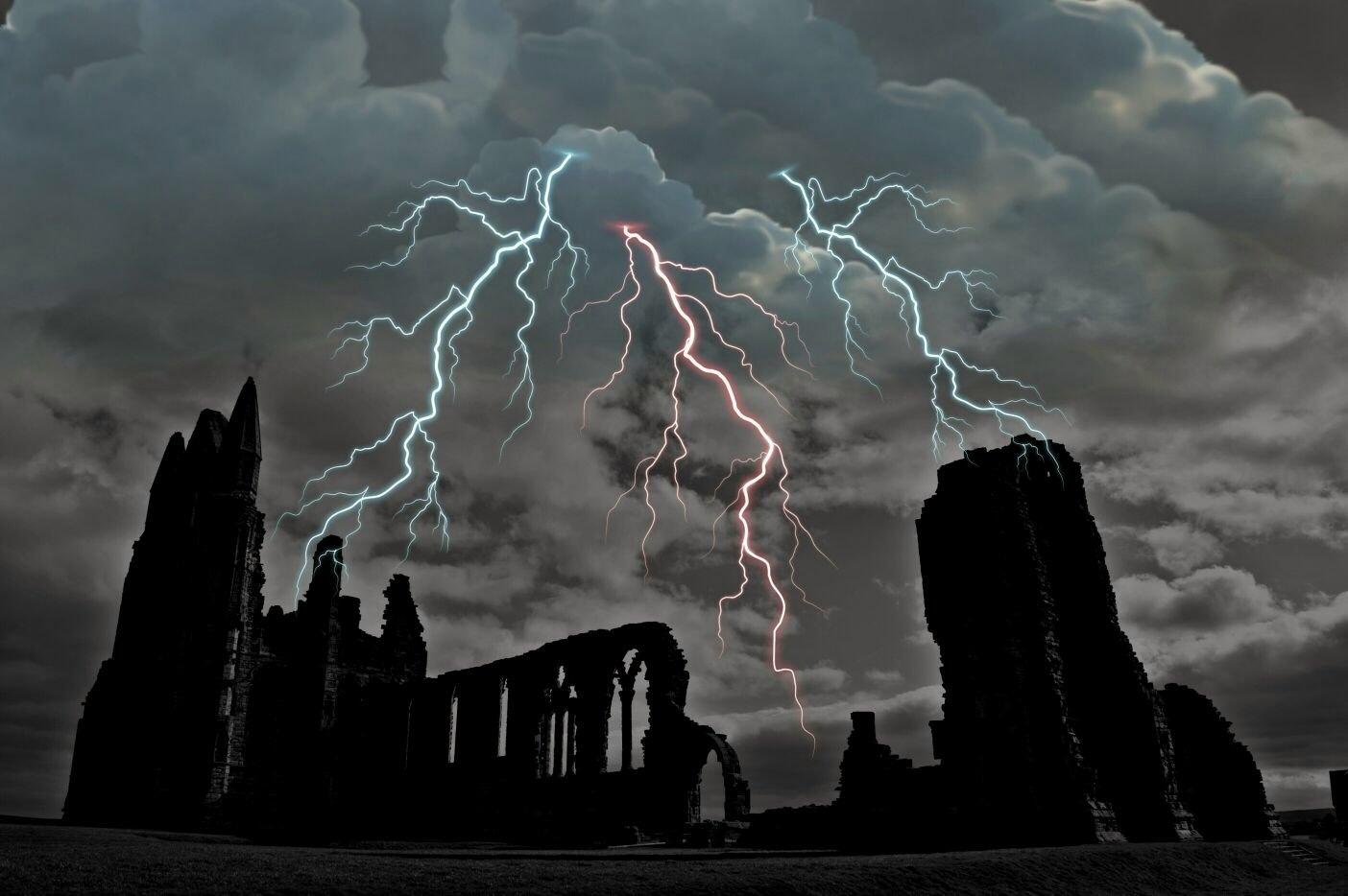 Whitby Abbey. by kirkkenziekj79