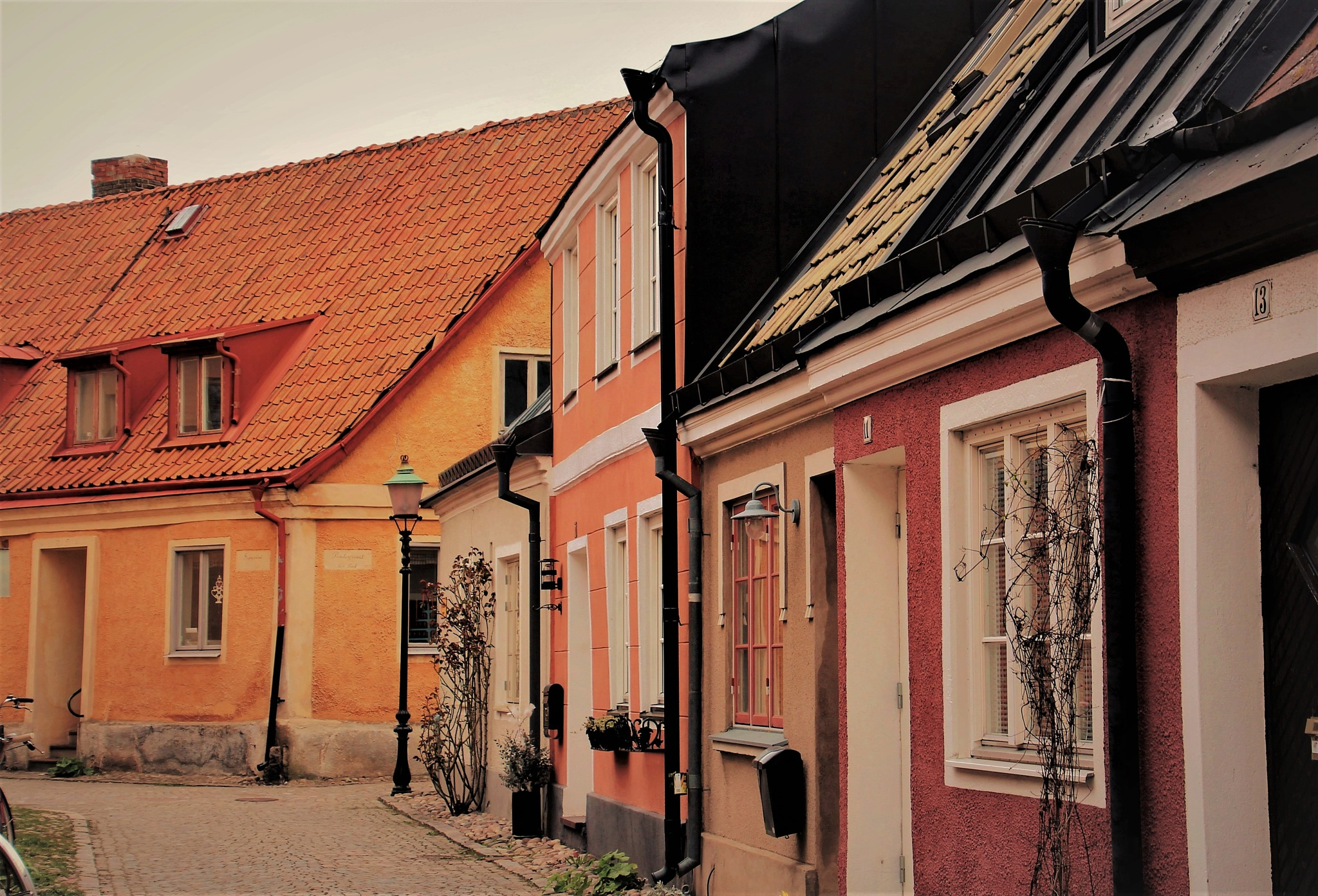 Olofs gränd. One of the small streets in my Hometown Ystad. by KerstinP.