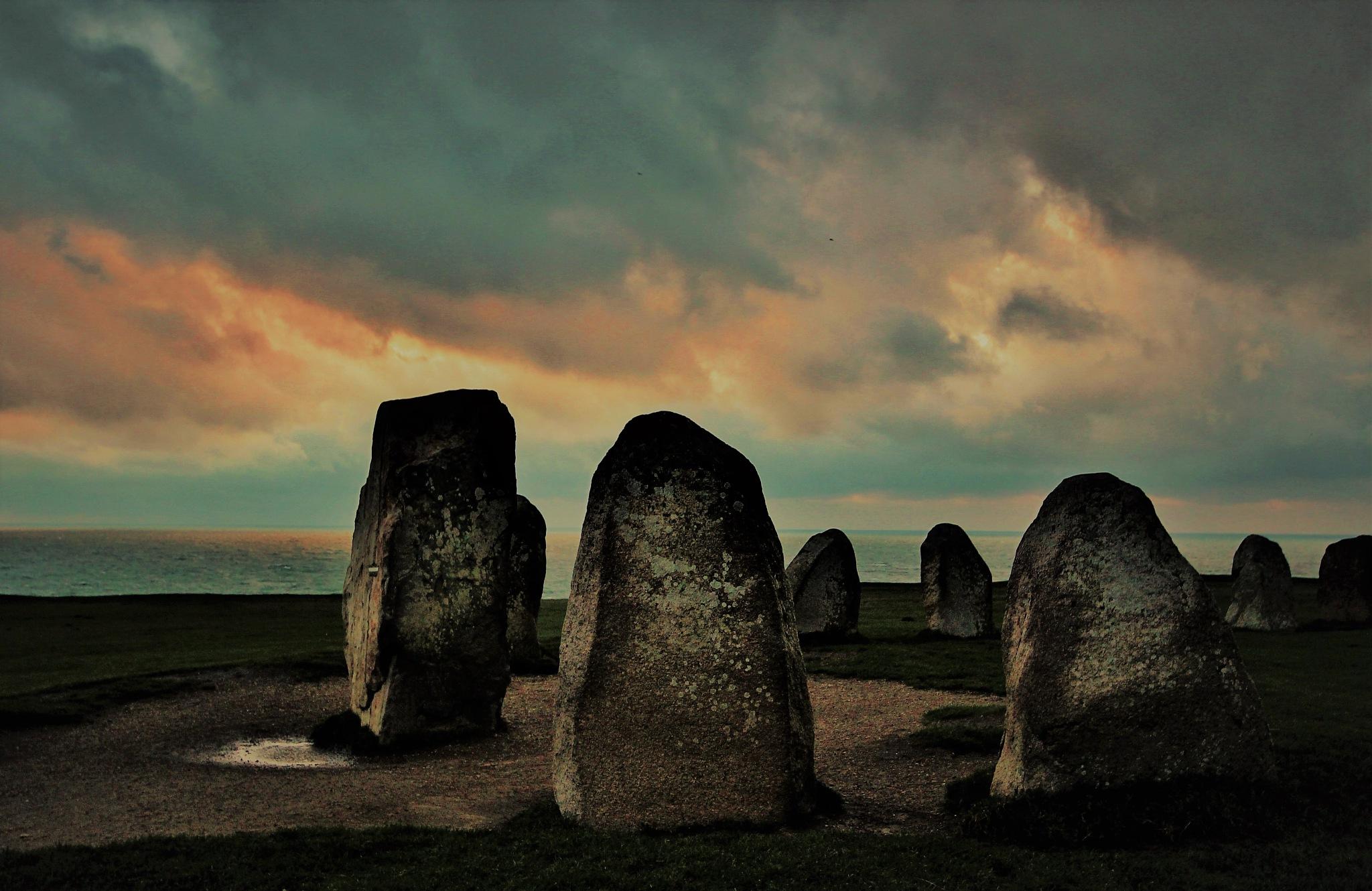 Ale Stones in Kåseberga. by KerstinP.