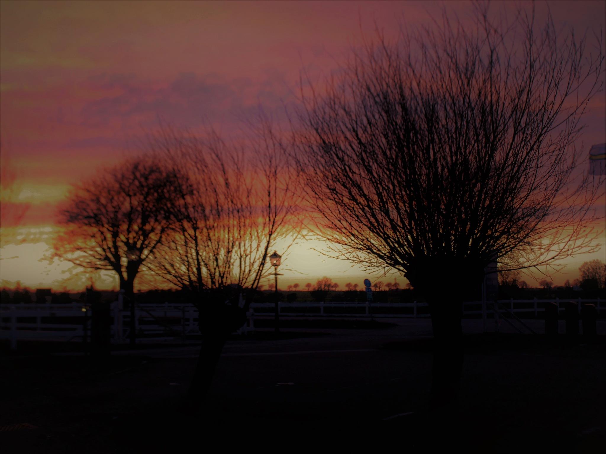 Evening Sunset I. by KerstinP.