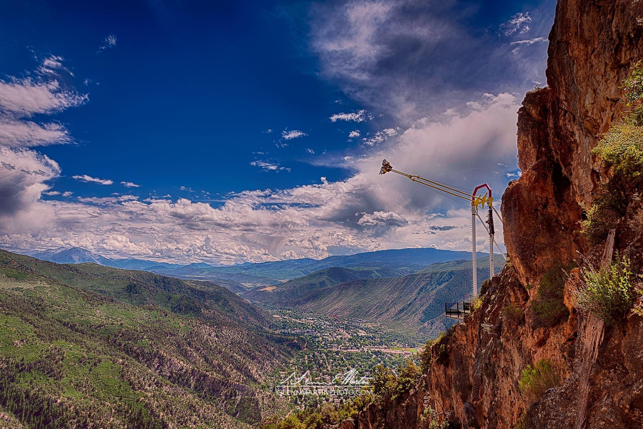 Canyon Swing by Glenn Martin