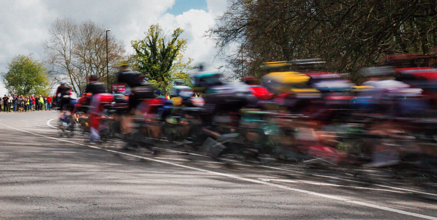 Tour de Yorkshire - Harewood Bank  by davidautumns